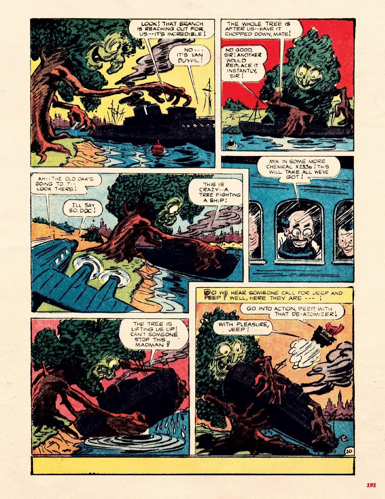 Read online Super Weird Heroes comic -  Issue # TPB 1 (Part 2) - 91