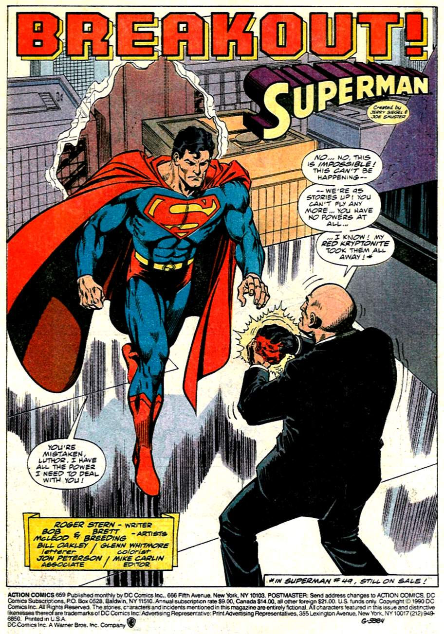 Action Comics (1938) 659 Page 1