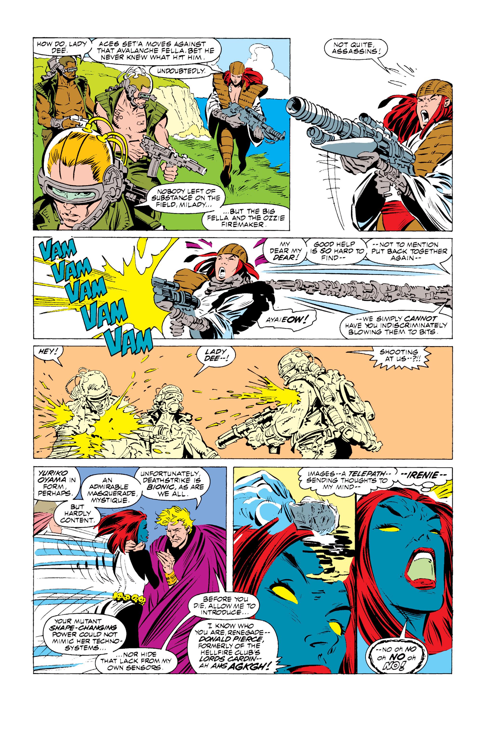 Read online Uncanny X-Men (1963) comic -  Issue #255 - 16