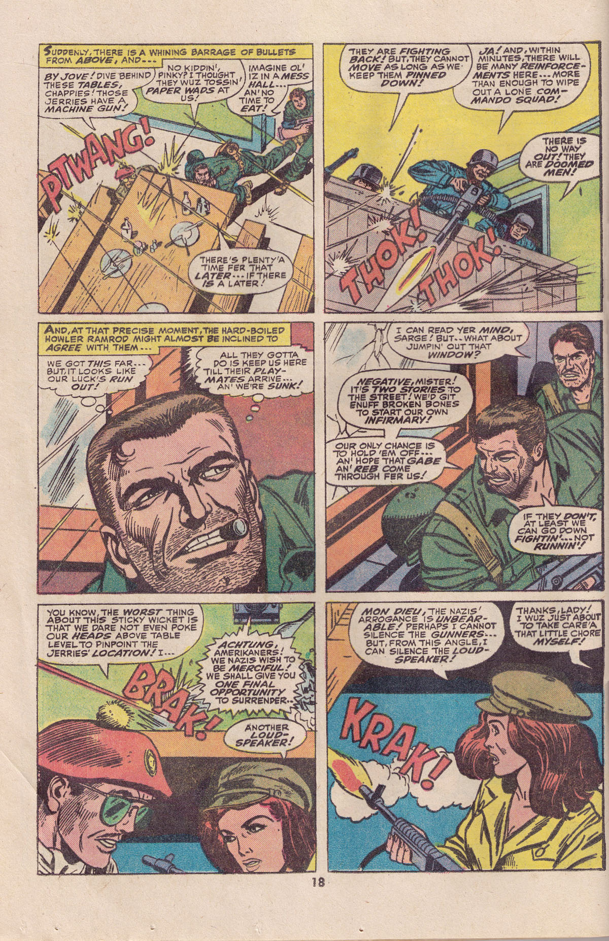 Read online Sgt. Fury comic -  Issue #113 - 20