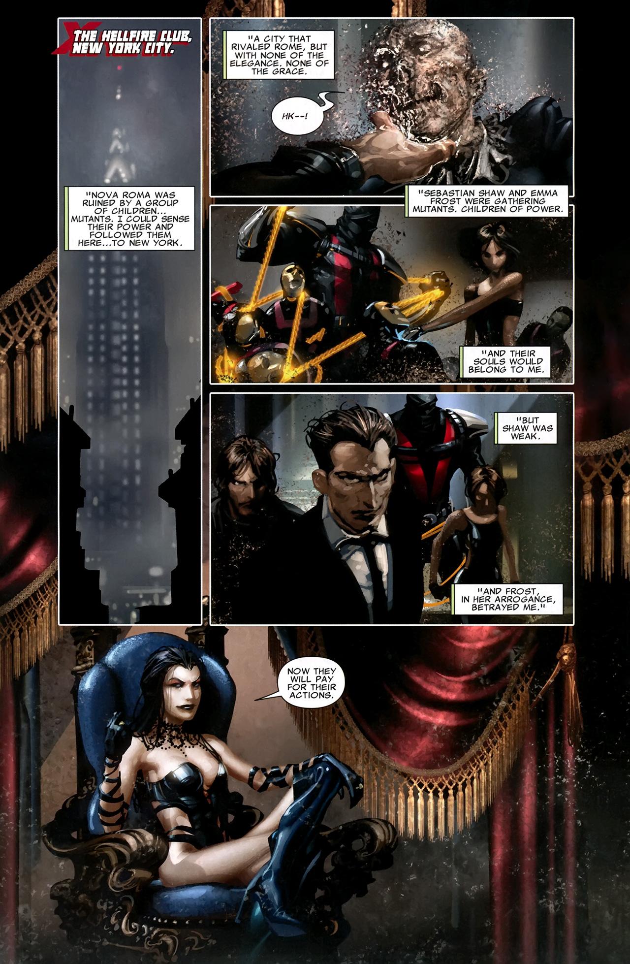 Read online X Necrosha comic -  Issue # Full - 18