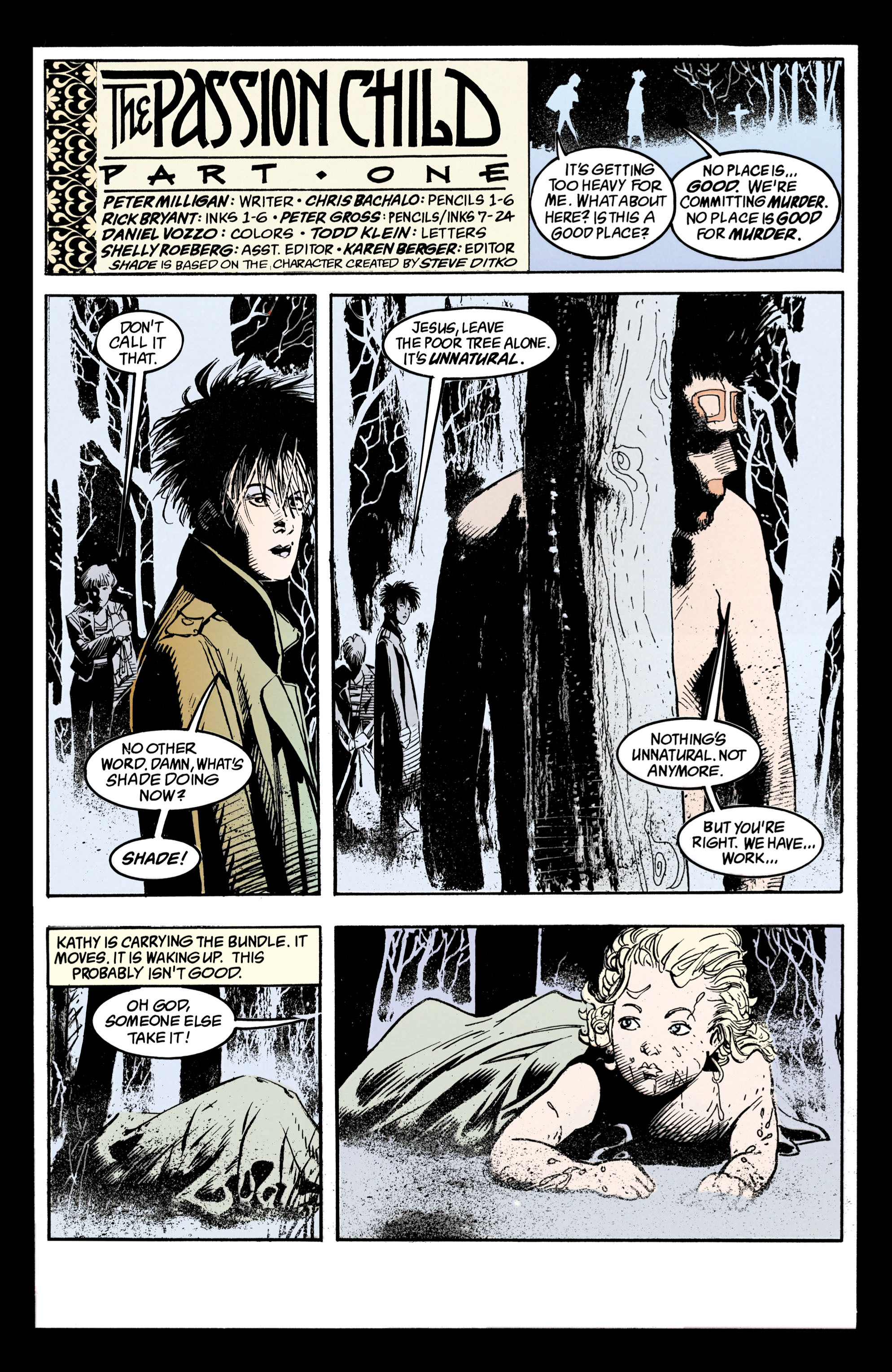 Read online Shade, the Changing Man comic -  Issue #36 - 2