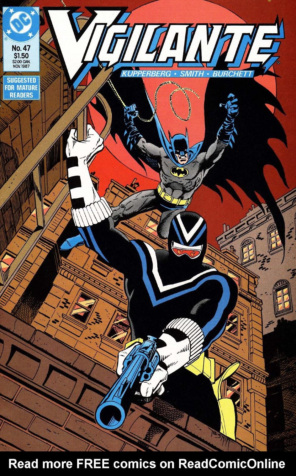 Vigilante (1983) issue 47 - Page 1