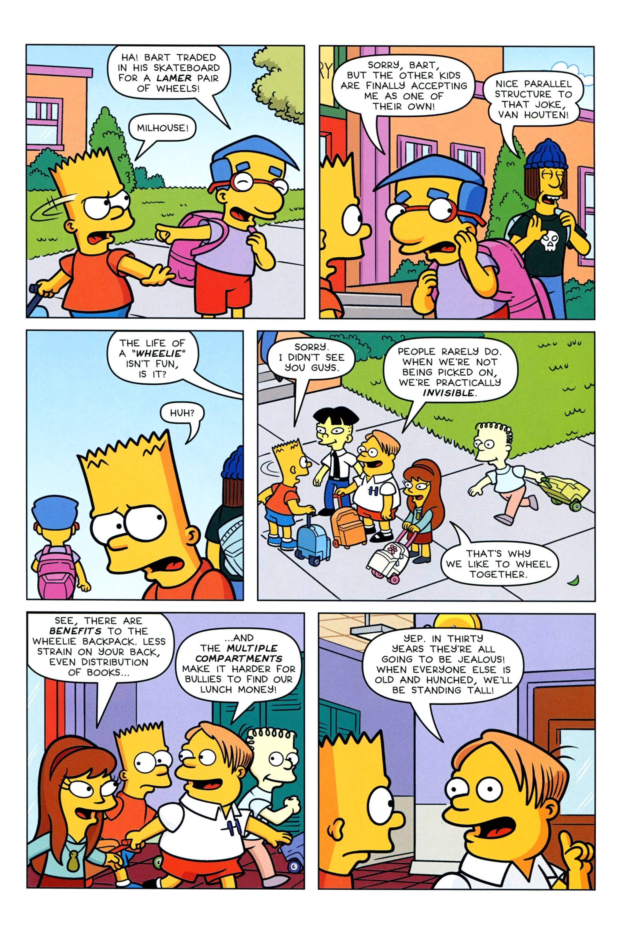 Read online Simpsons Comics Presents Bart Simpson comic -  Issue #92 - 5