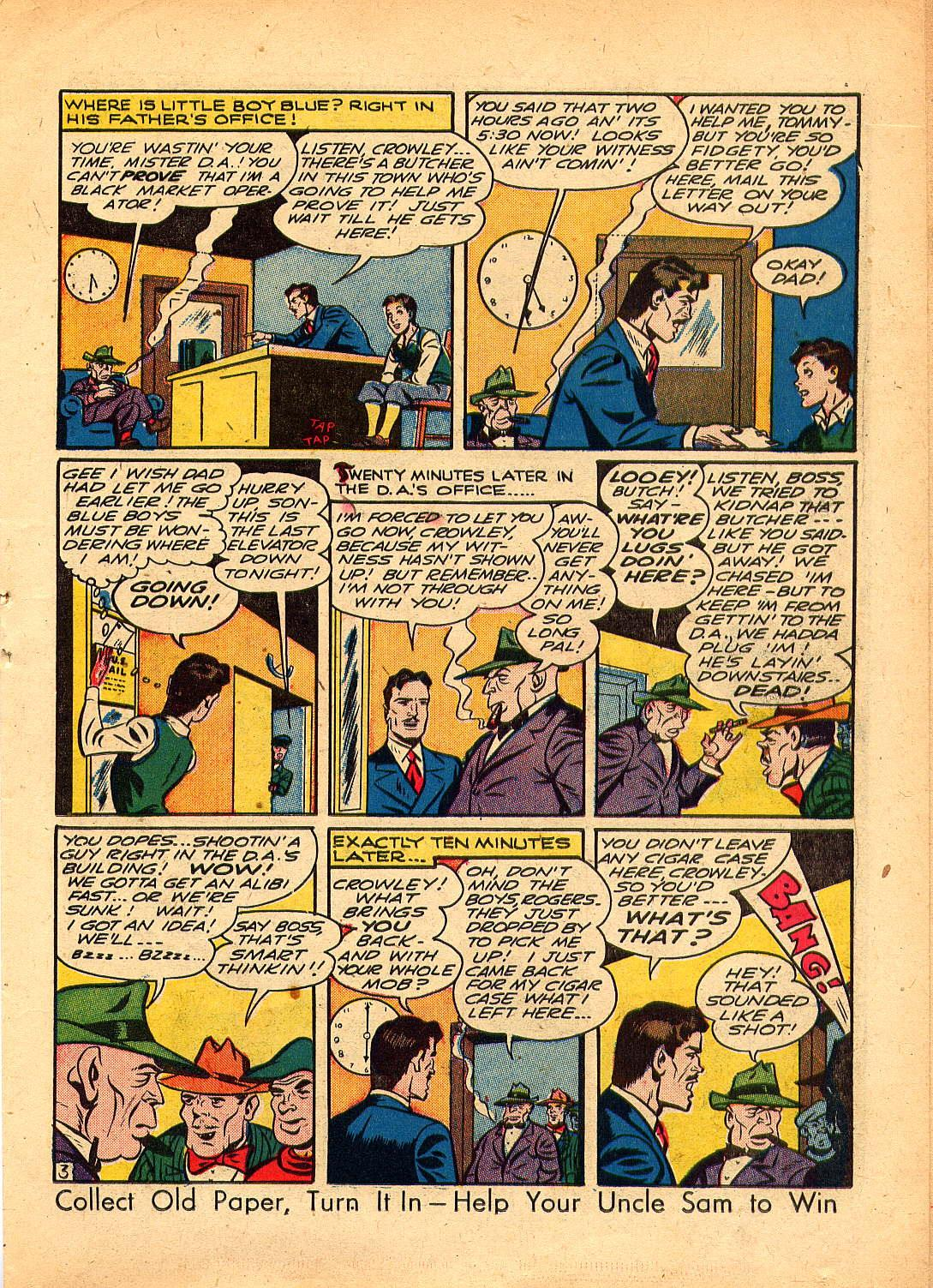Read online Sensation (Mystery) Comics comic -  Issue #30 - 27