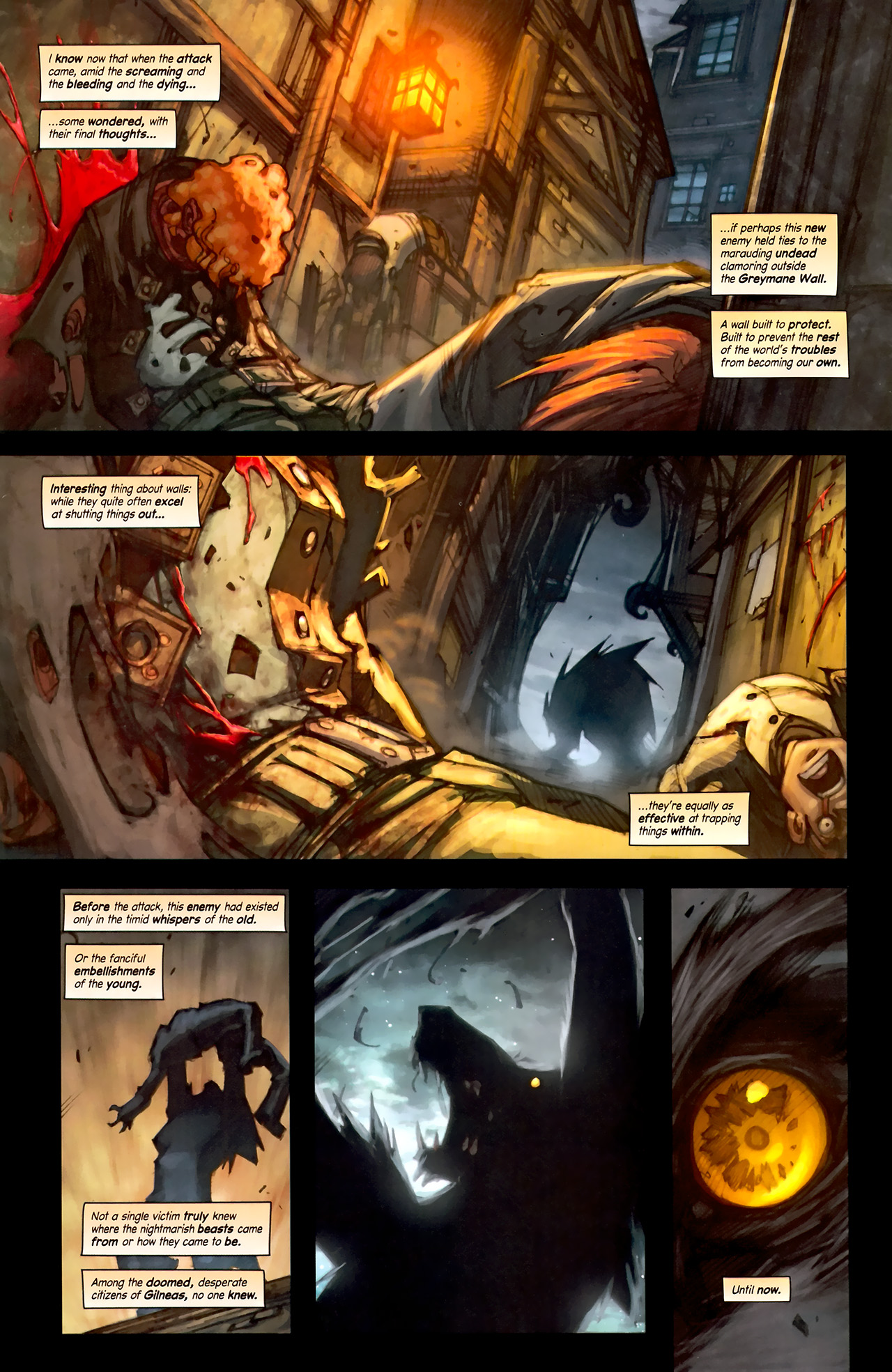 Read online World of Warcraft: Curse of the Worgen comic -  Issue #1 - 4