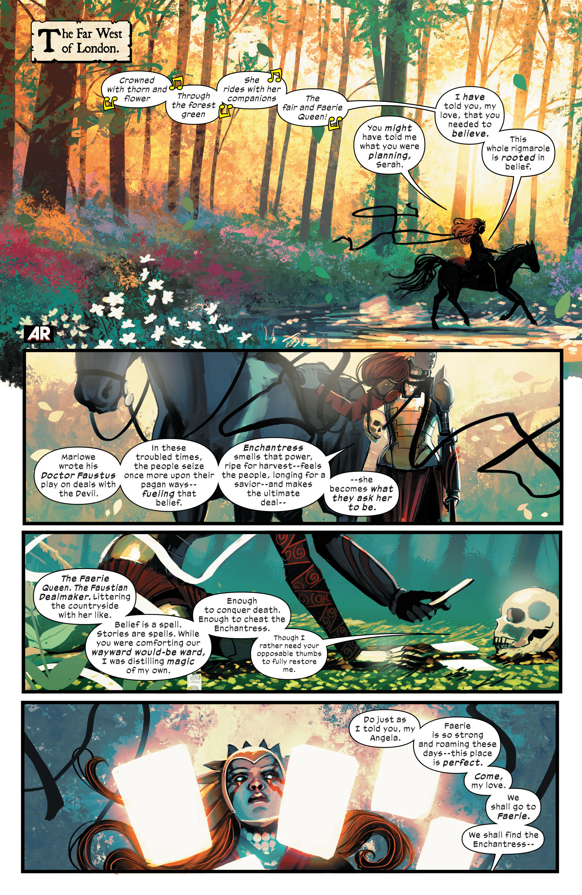 Read online 1602 Witch Hunter Angela comic -  Issue #4 - 3
