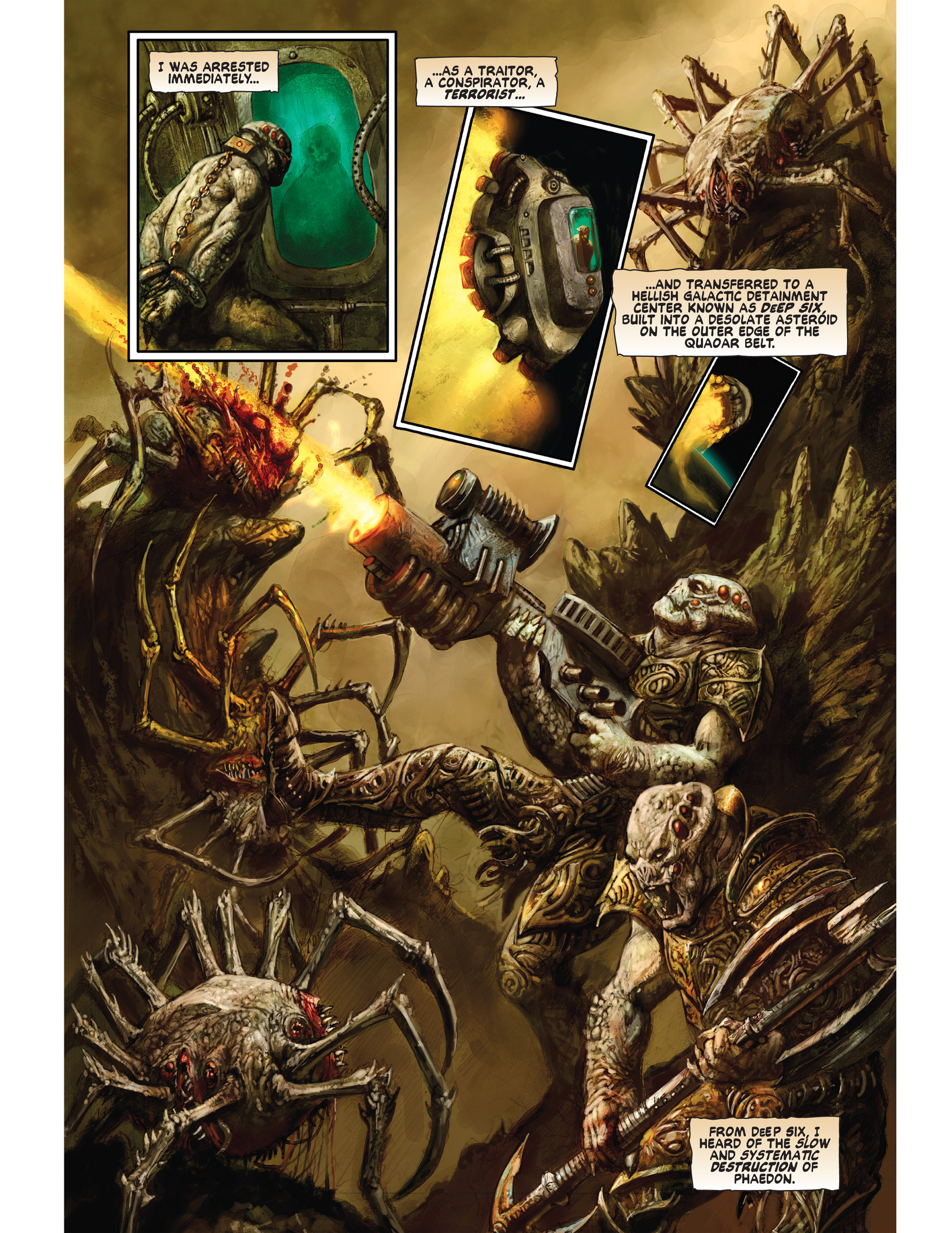 Read online Bad Planet comic -  Issue # TPB - 102