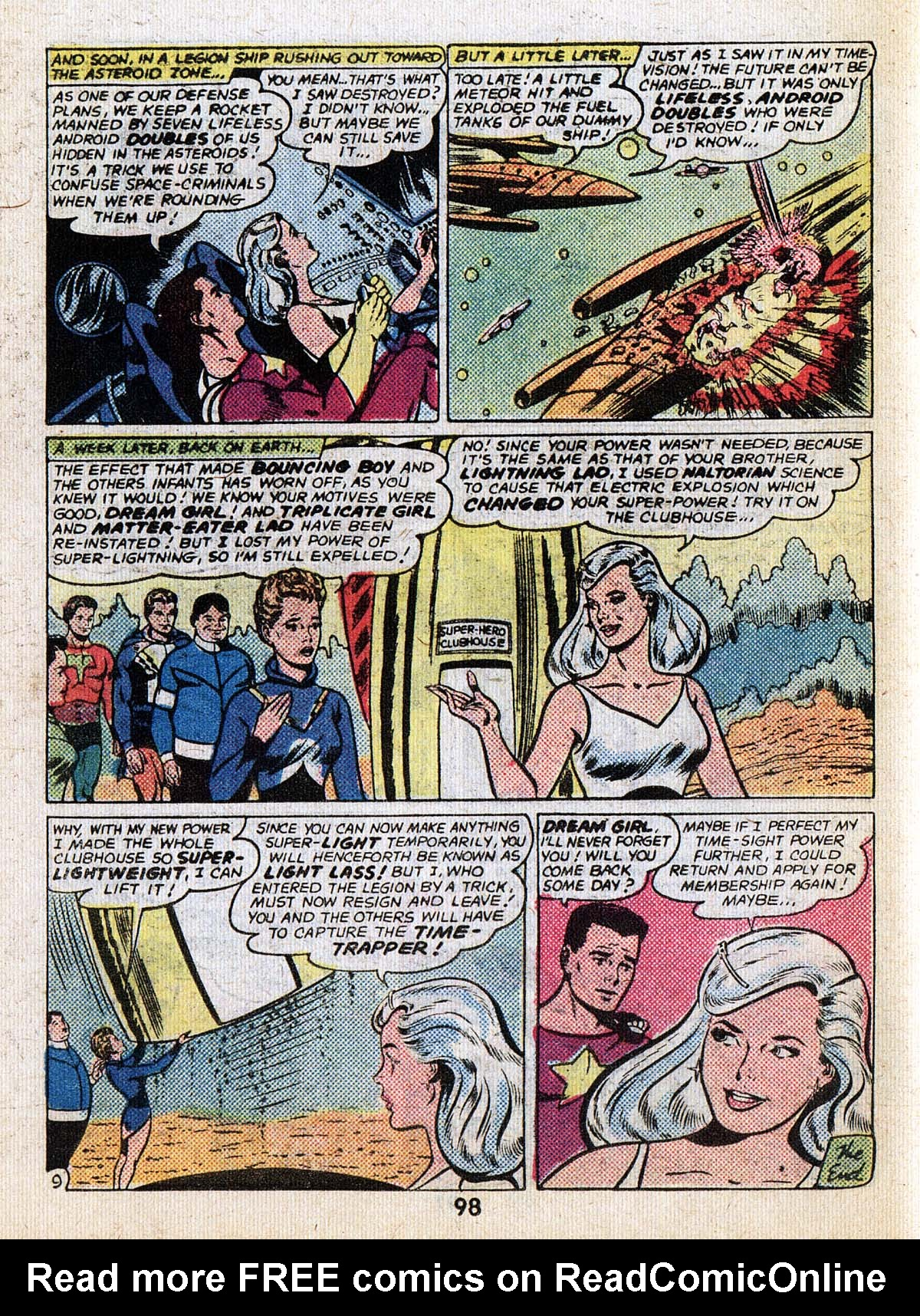 Read online Adventure Comics (1938) comic -  Issue #502 - 98