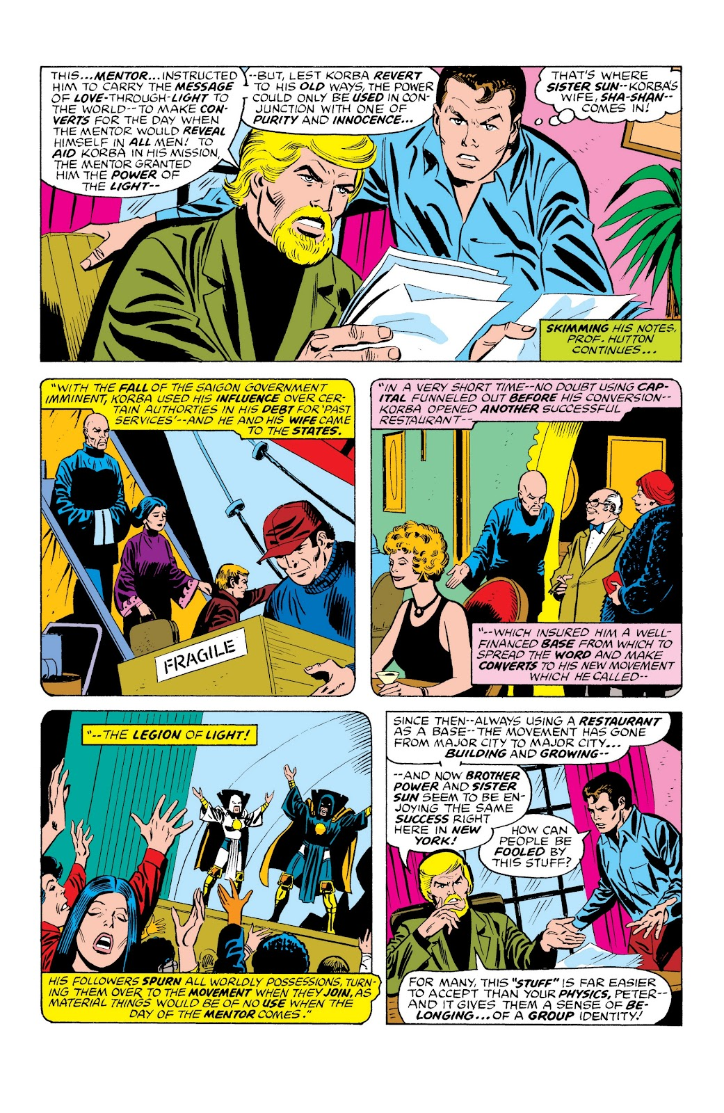 Read online Marvel Masterworks: The Spectacular Spider-Man comic -  Issue # TPB (Part 3) - 5