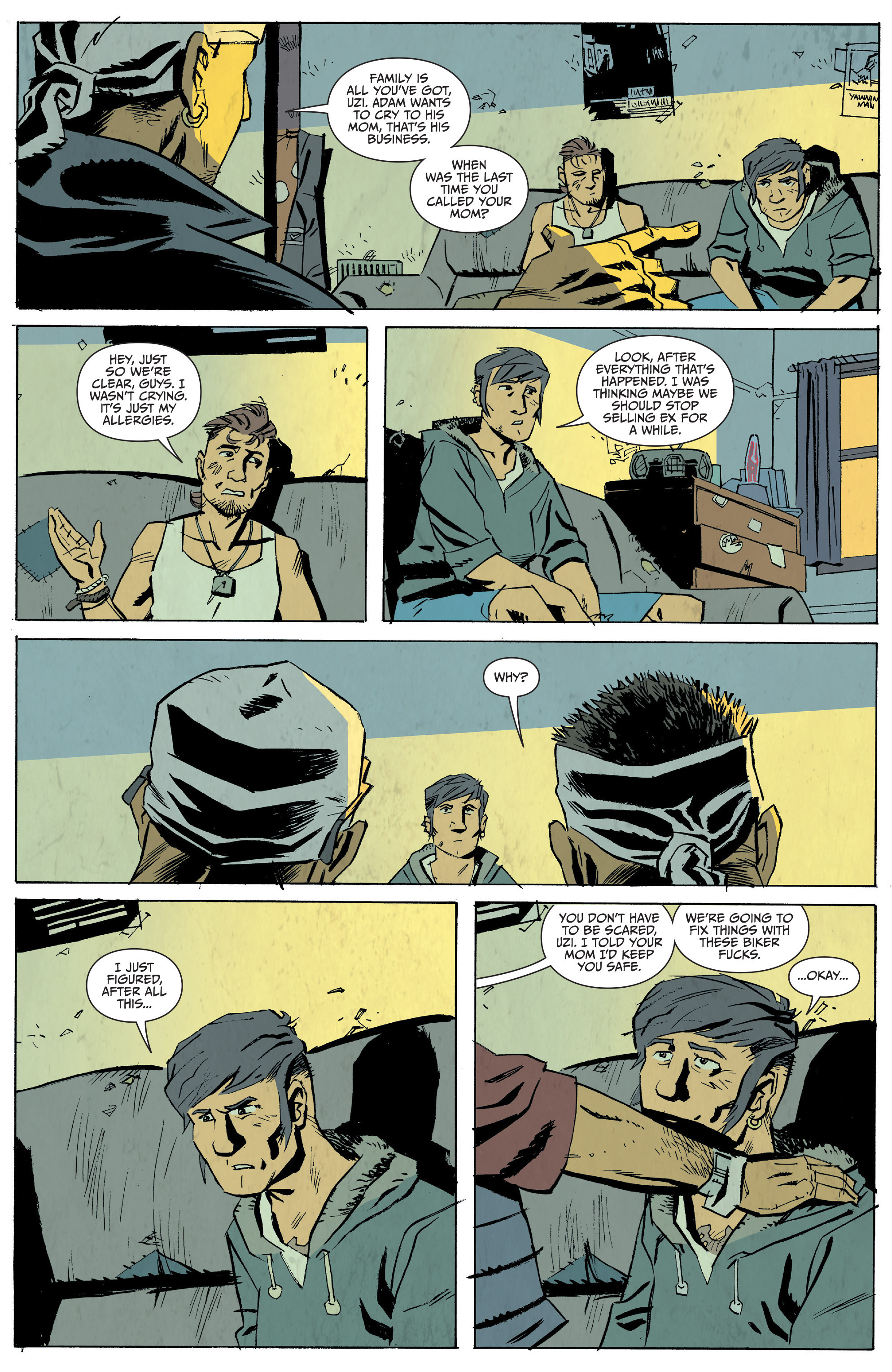 Read online Sons of Anarchy: Redwood Original comic -  Issue #5 - 4