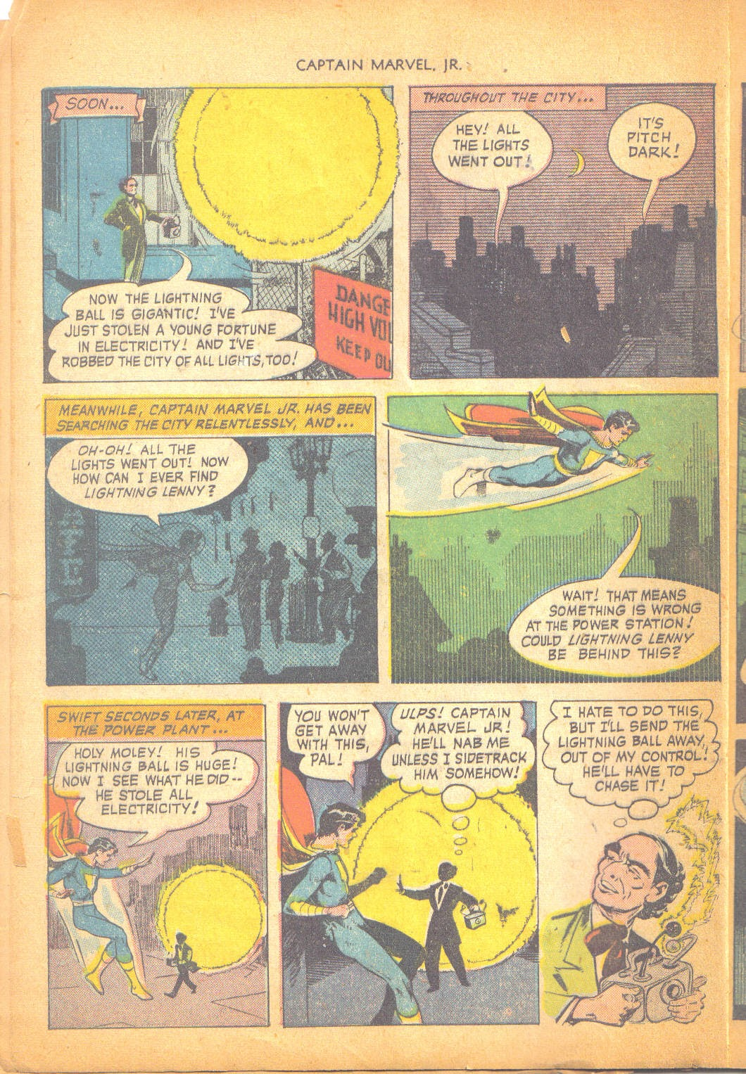 Captain Marvel, Jr. issue 95 - Page 7