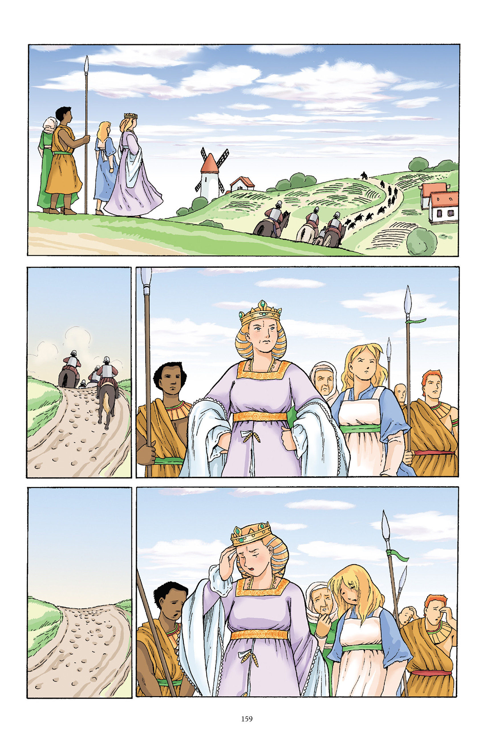 Read online Courageous Princess comic -  Issue # TPB 1 - 158
