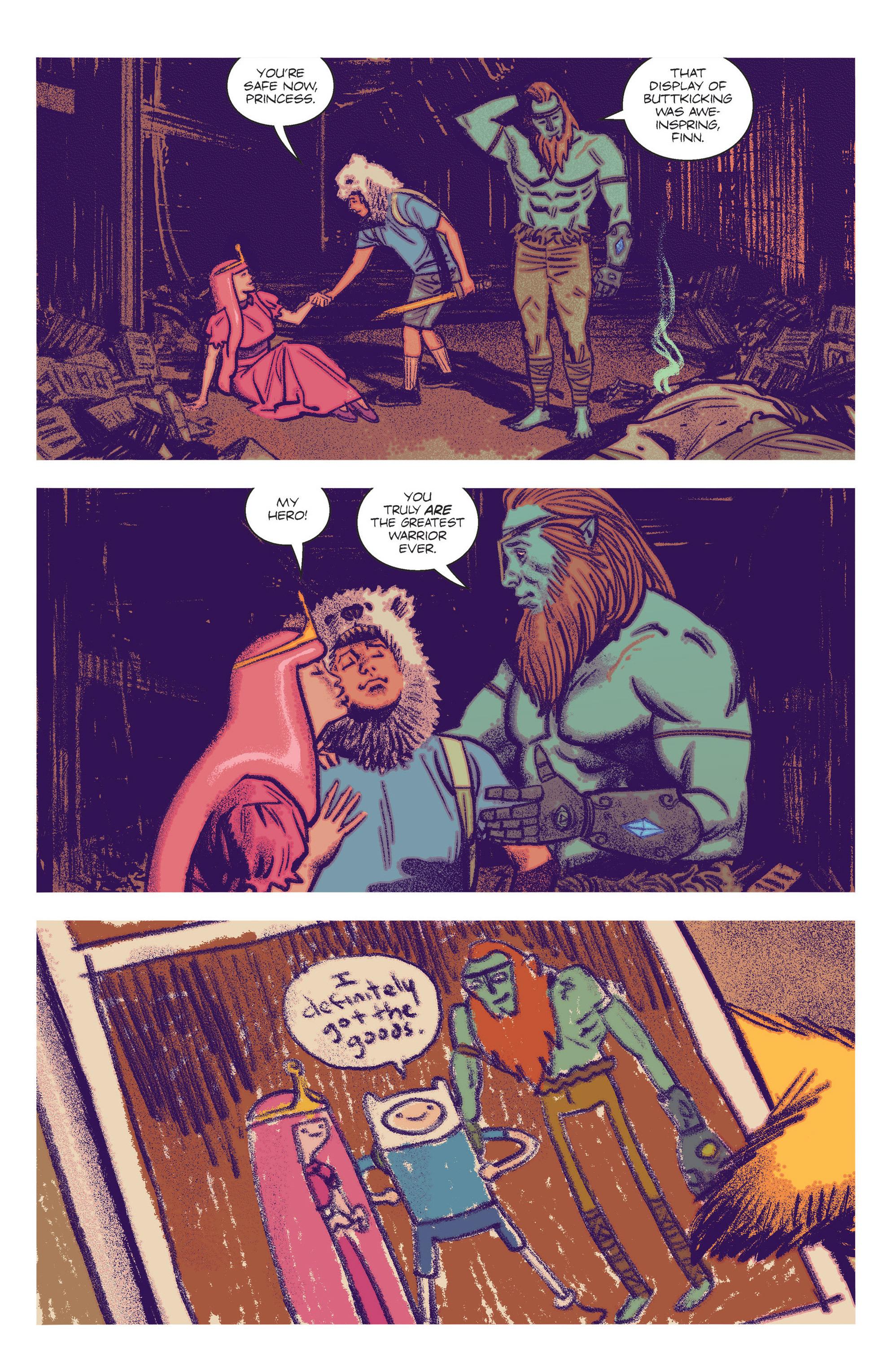 Read online Adventure Time Comics comic -  Issue #2 - 13