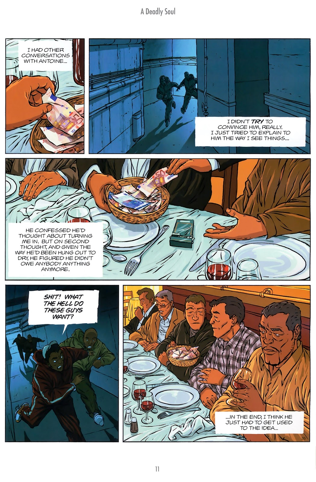 Read online The Killer comic -  Issue #10 - 11