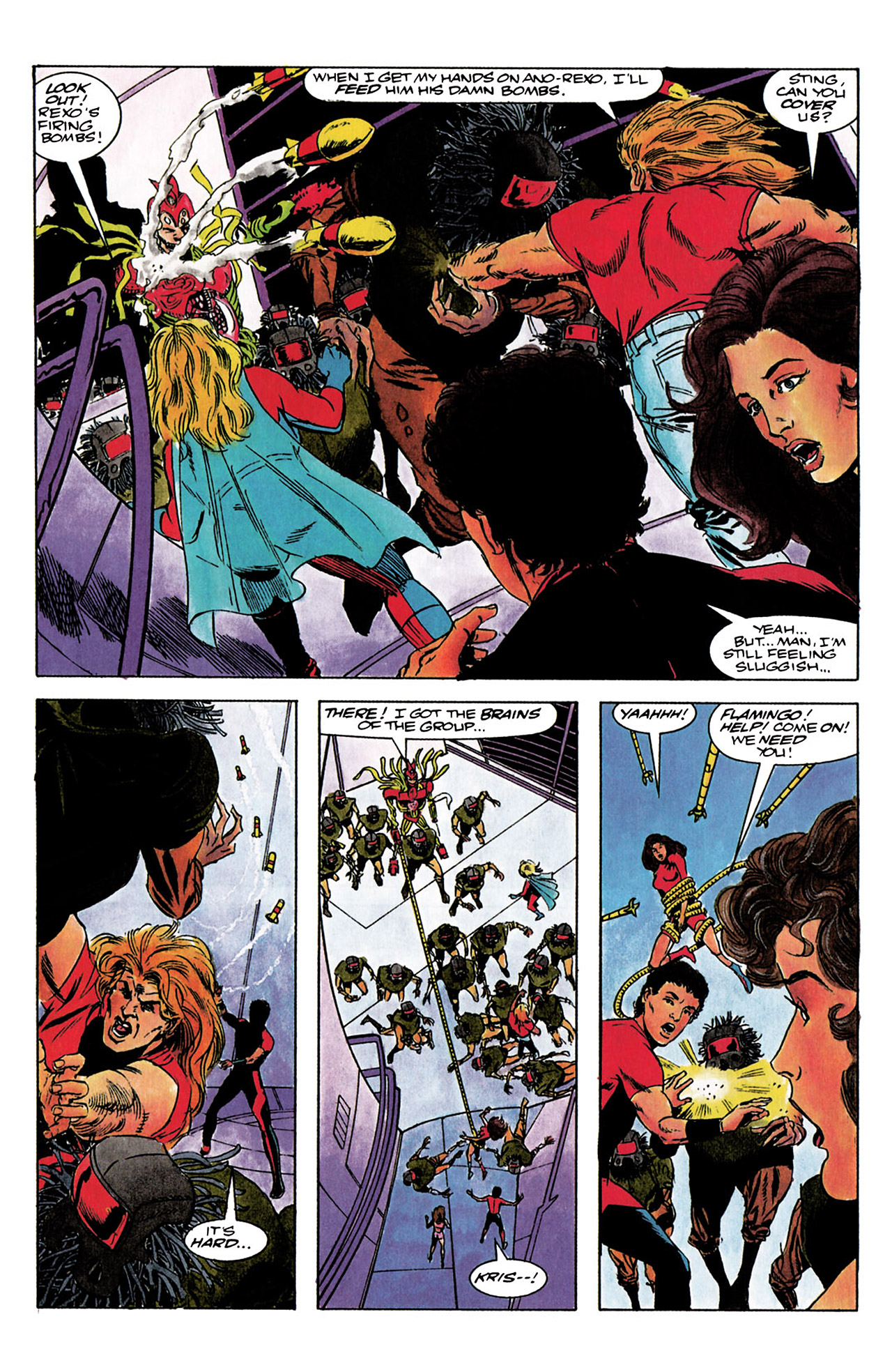 Read online Harbinger (1992) comic -  Issue #3 - 21