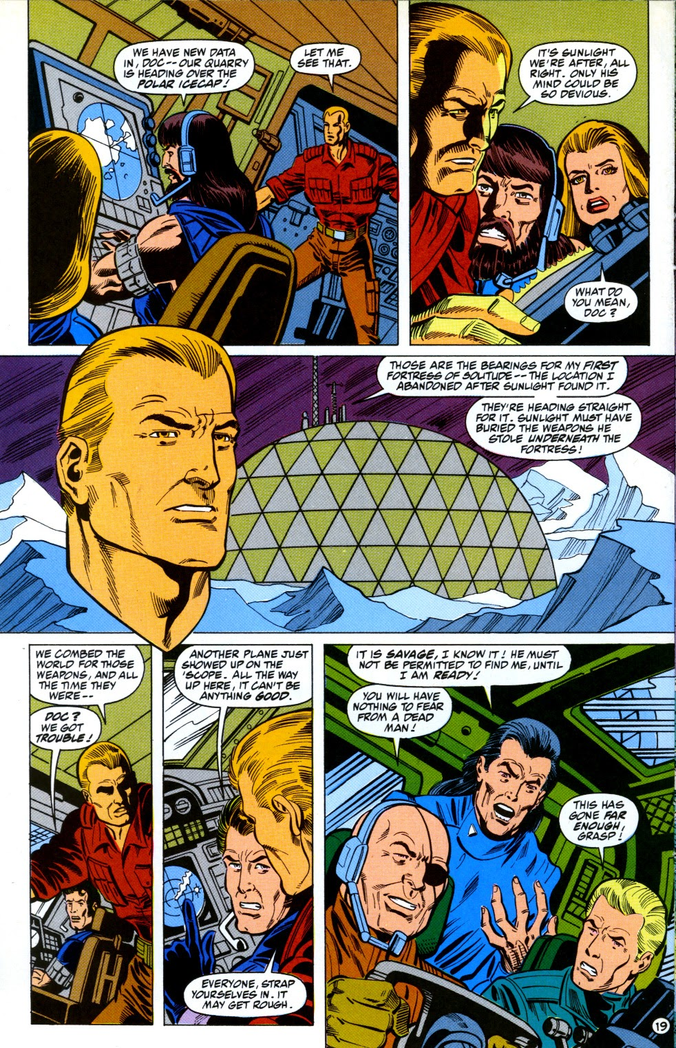 Doc Savage (1988) issue 12 - Page 21
