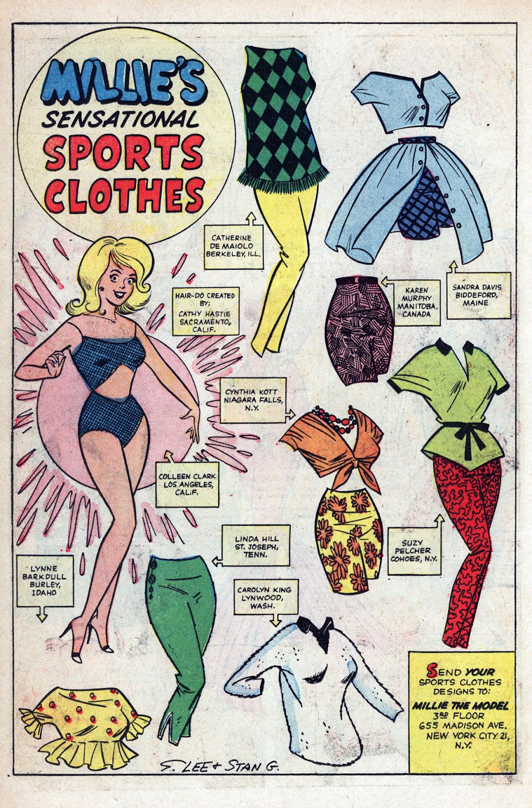 Read online Millie the Model comic -  Issue # Annual 1 - 56