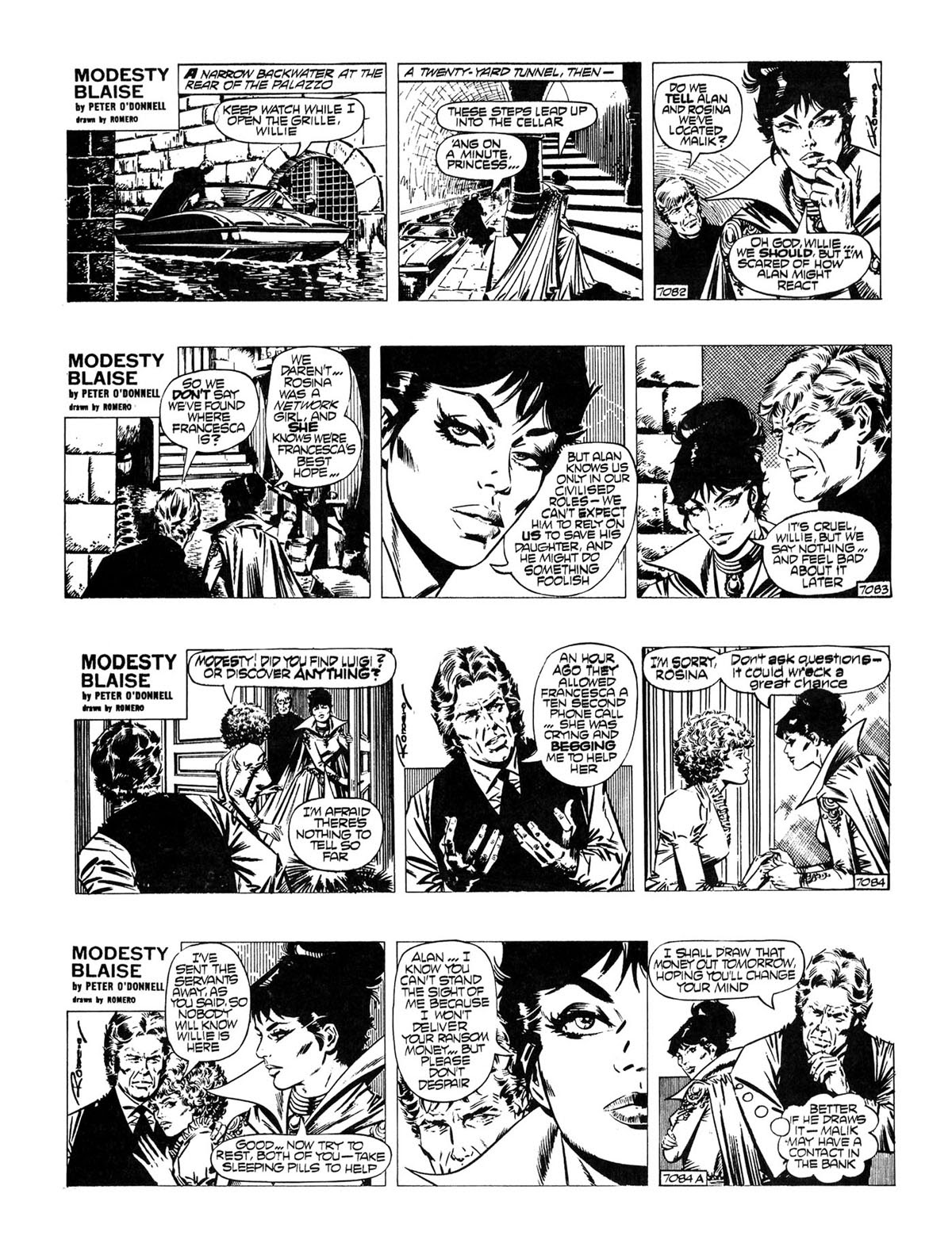 Read online Modesty Blaise Live bait comic -  Issue # TPB - 16