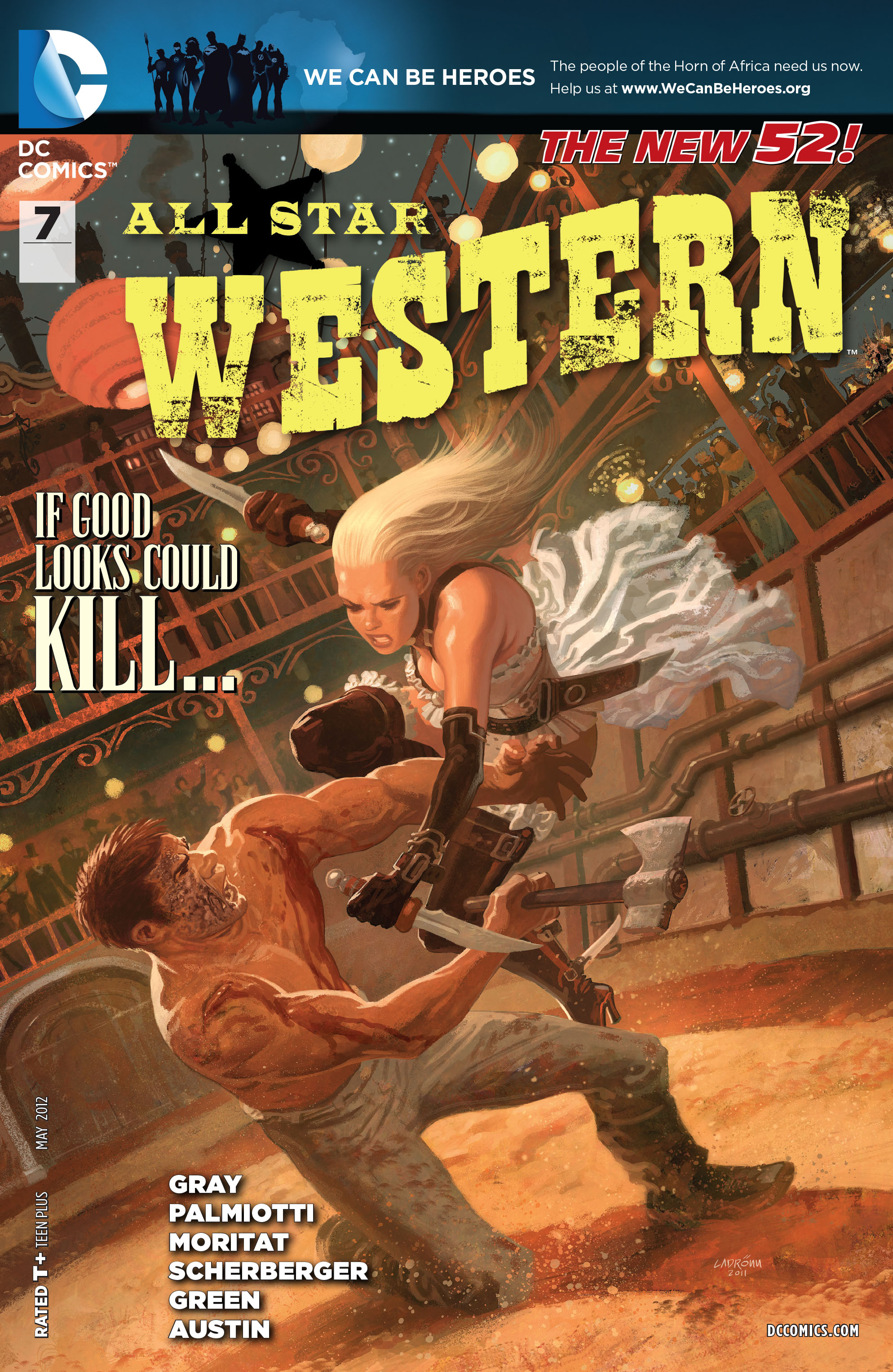 Read online All-Star Western (2011) comic -  Issue #7 - 1