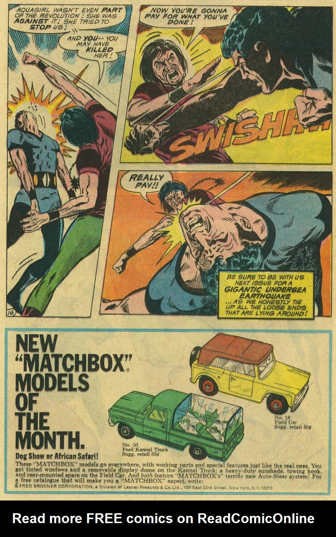 Read online Aquaman (1962) comic -  Issue #47 - 20