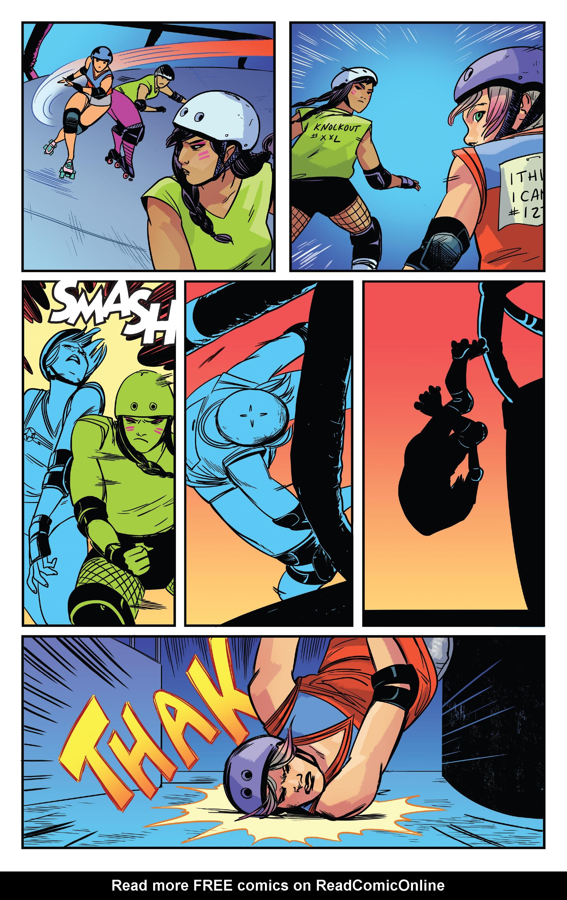 Read online Slam! comic -  Issue #4 - 21