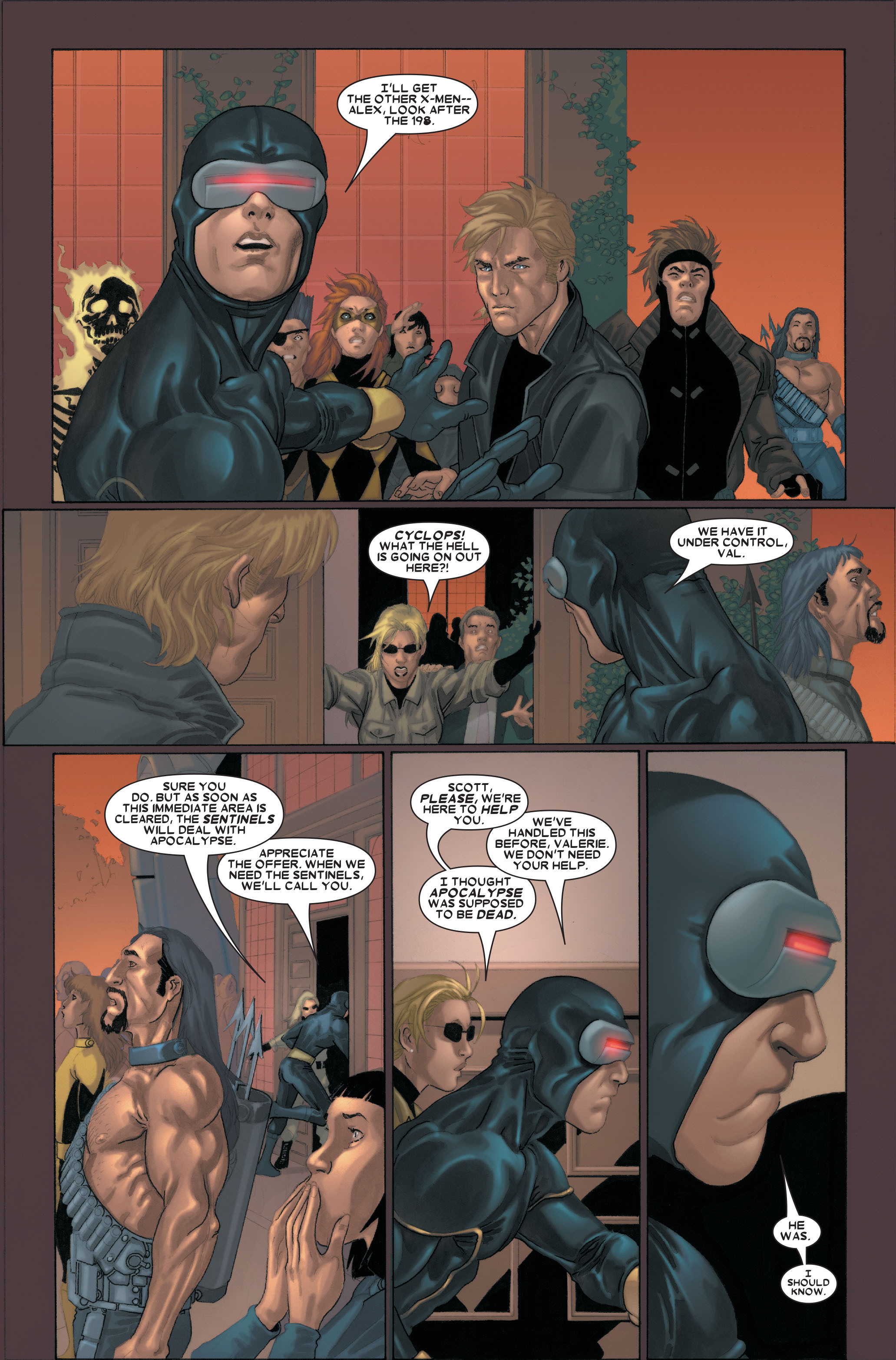 X-Men (1991) 183 Page 3