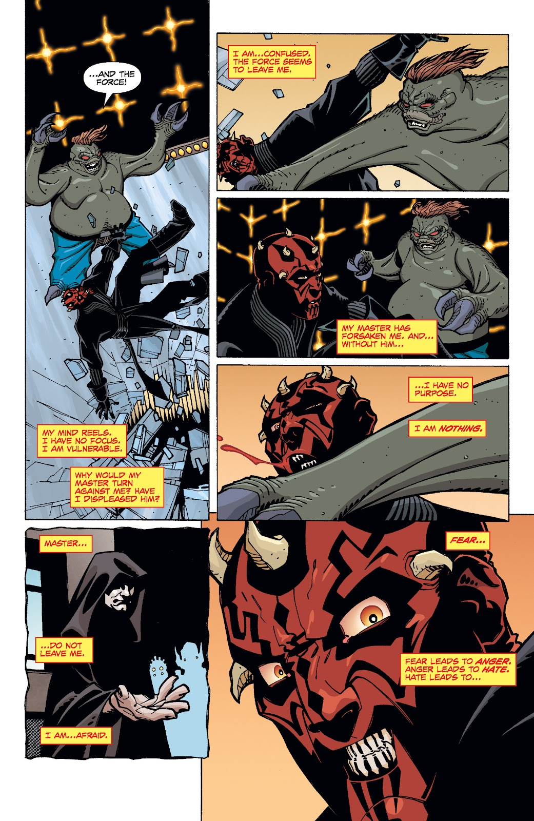 Read online Star Wars Legends: Rise of the Sith - Epic Collection comic -  Issue # TPB 1 (Part 4) - 63