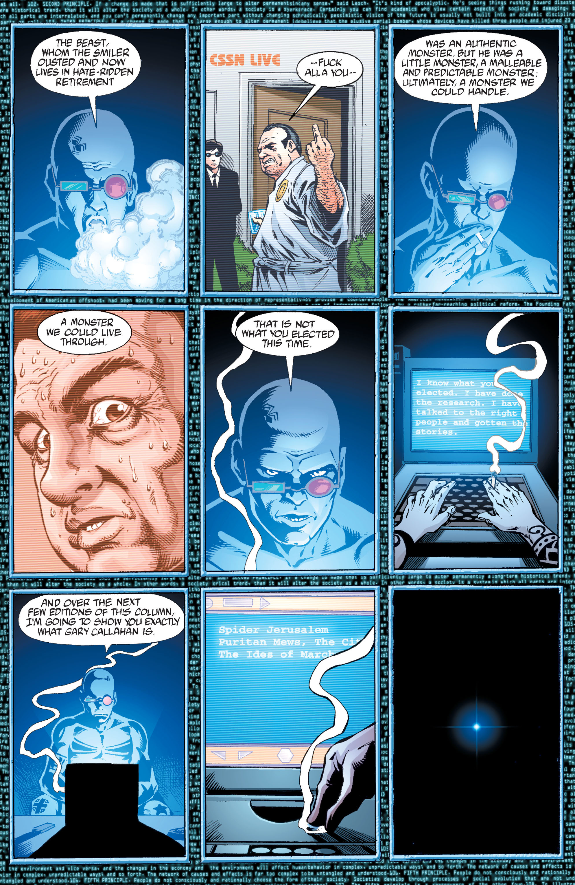Read online Transmetropolitan comic -  Issue #34 - 4