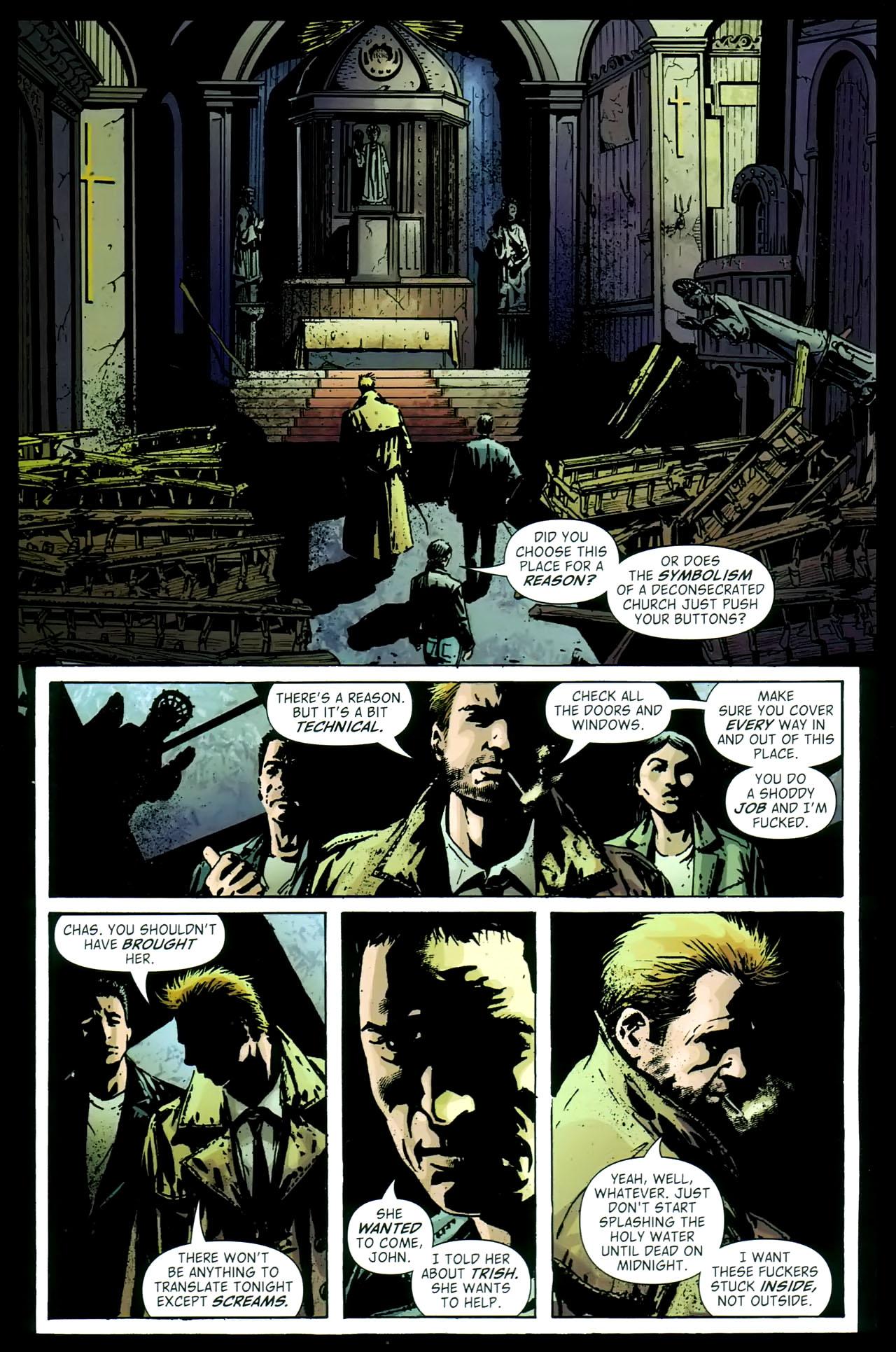Read online John Constantine Hellblazer: All His Engines comic -  Issue # Full - 77