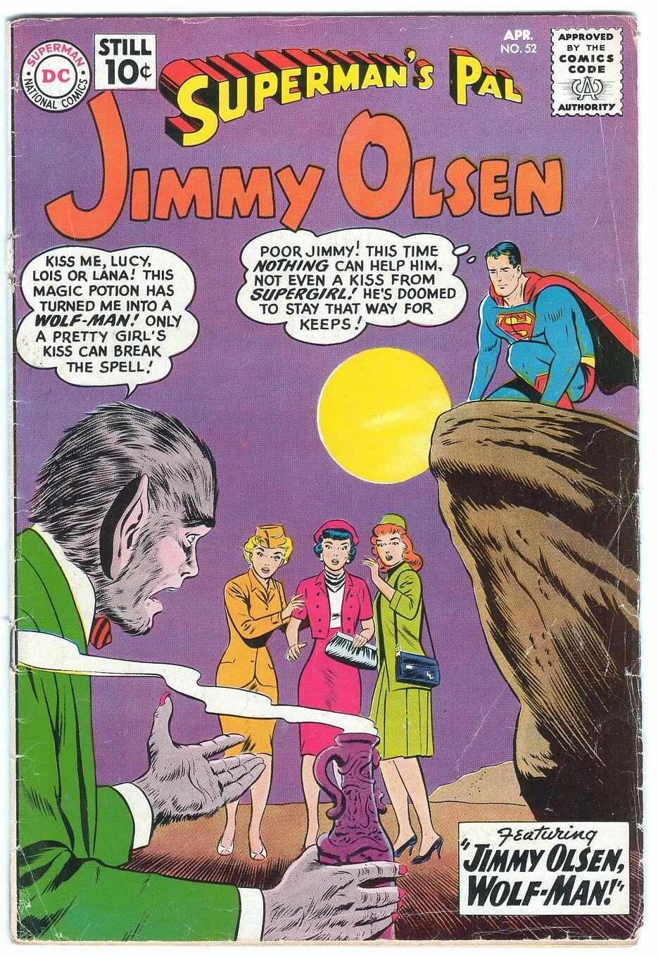 Supermans Pal Jimmy Olsen (1954) 52 Page 1