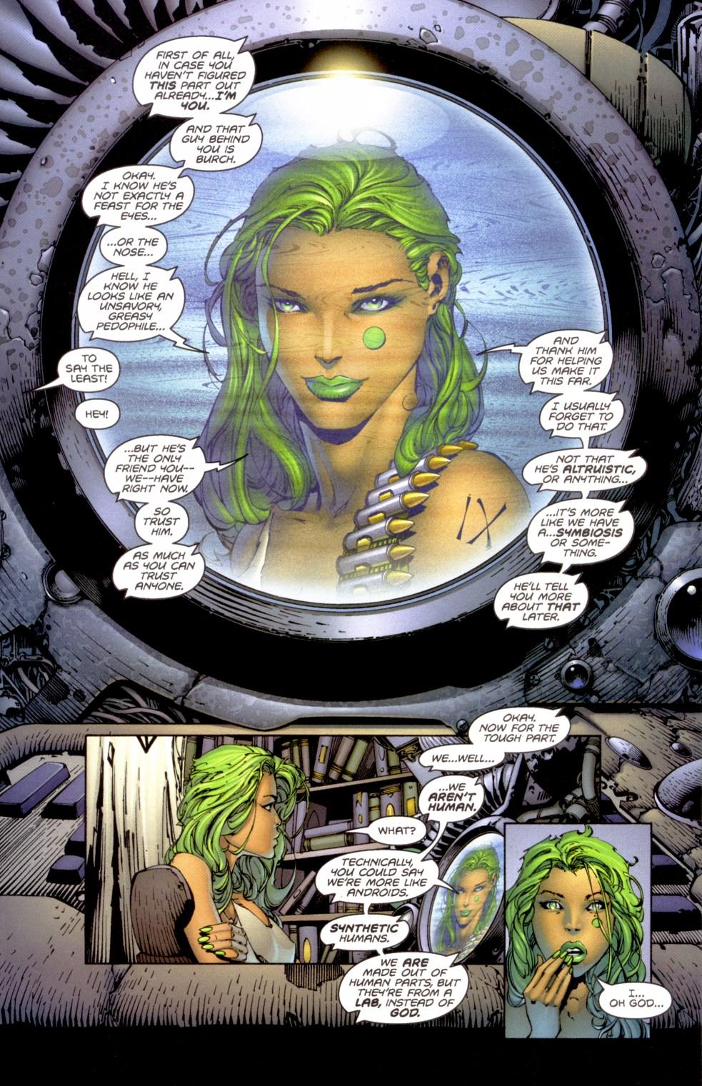 Read online Aphrodite IX (2000) comic -  Issue #1 - 13