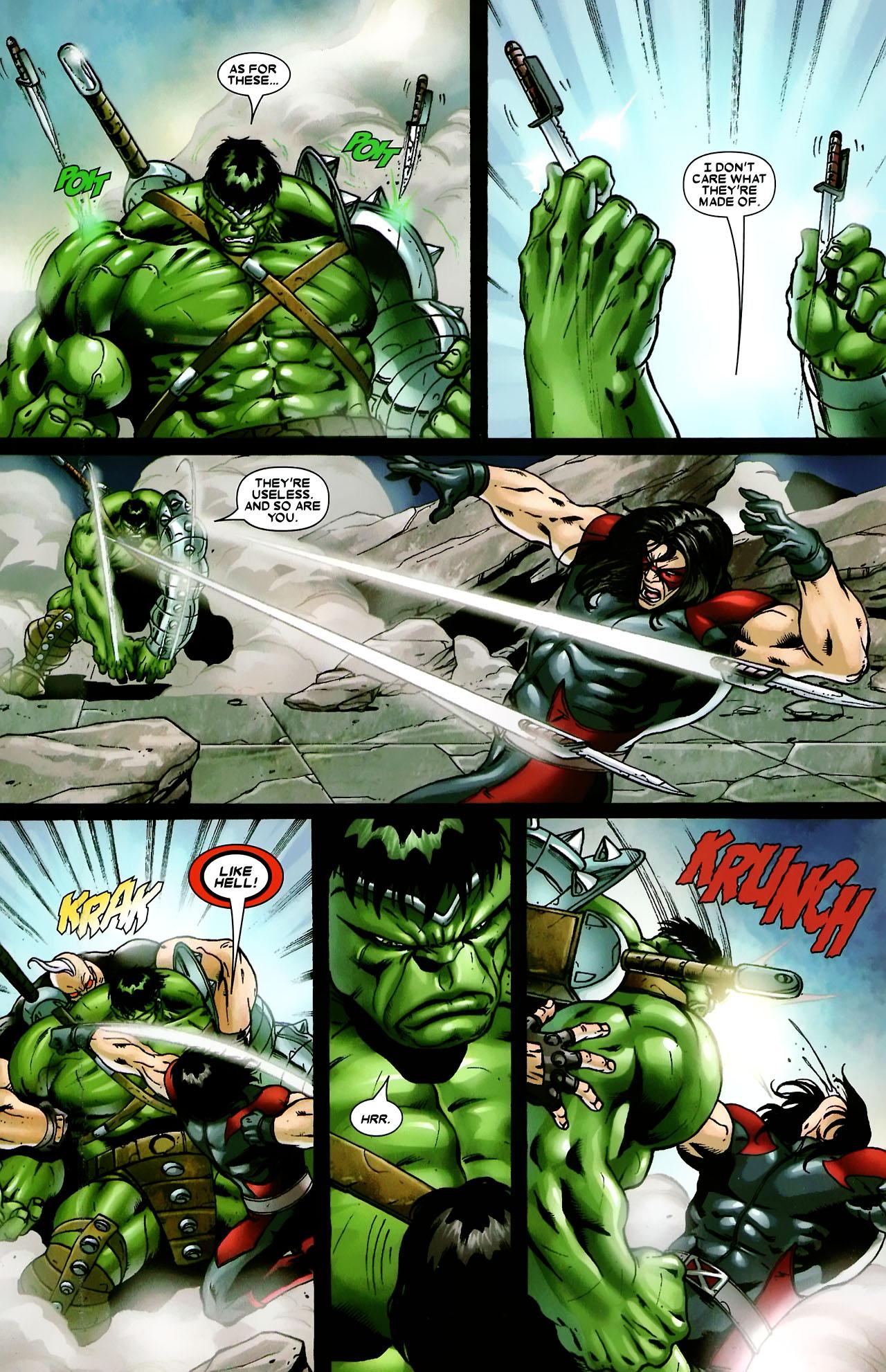 Read online World War Hulk: X-Men comic -  Issue #3 - 7
