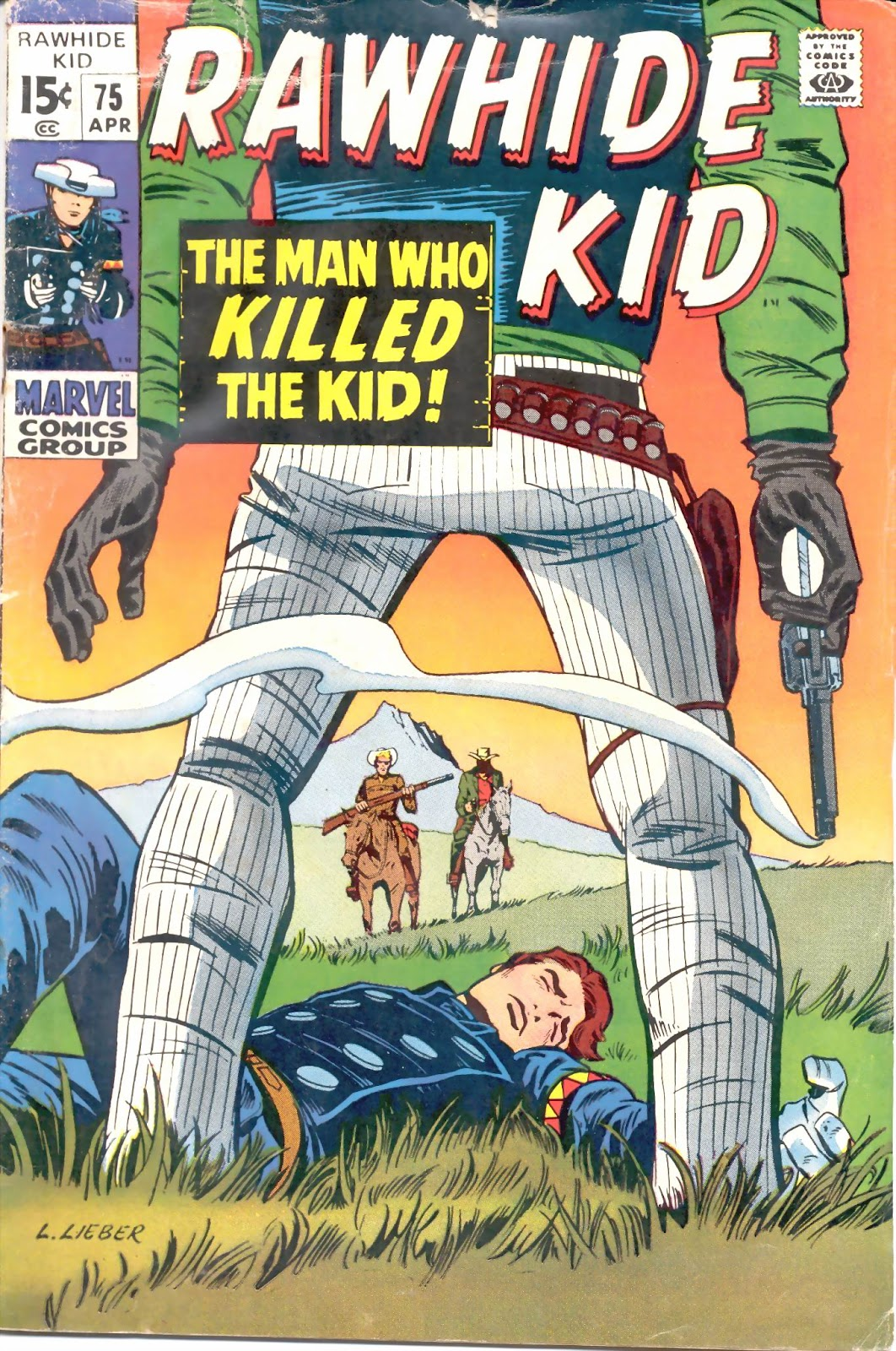 The Rawhide Kid (1955) issue 75 - Page 1