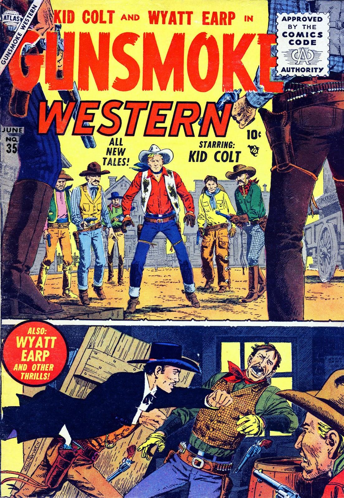 Gunsmoke Western issue 35 - Page 1