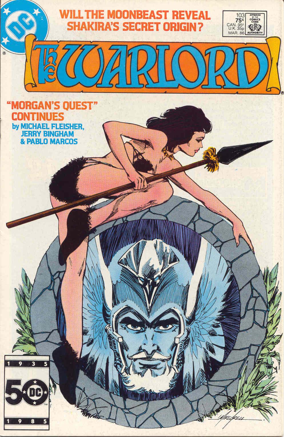 Warlord (1976) 103 Page 1