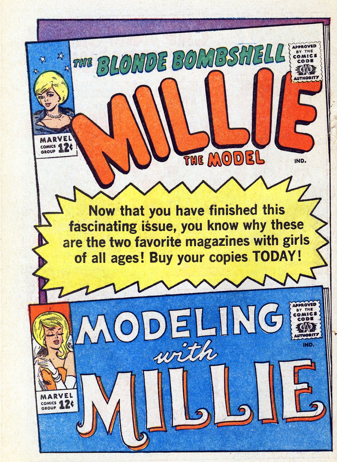 Read online Millie the Model comic -  Issue # Annual 4 - 66