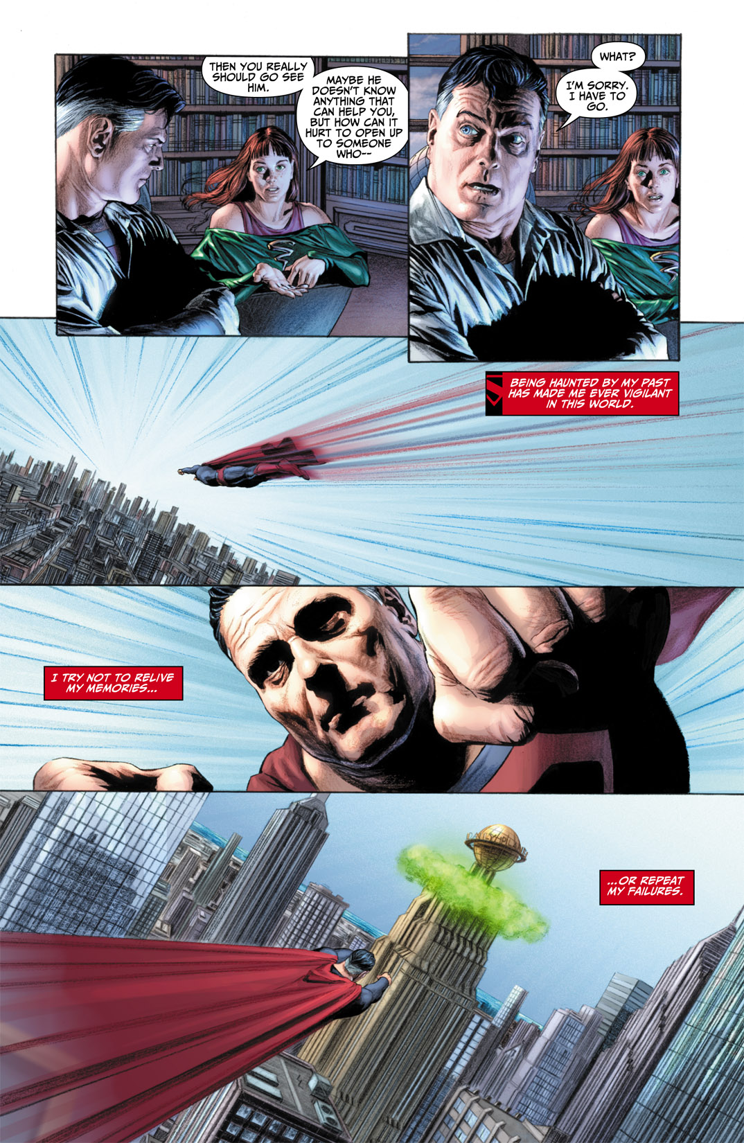 Read online JSA Kingdom Come Special: Superman comic -  Issue # Full - 8