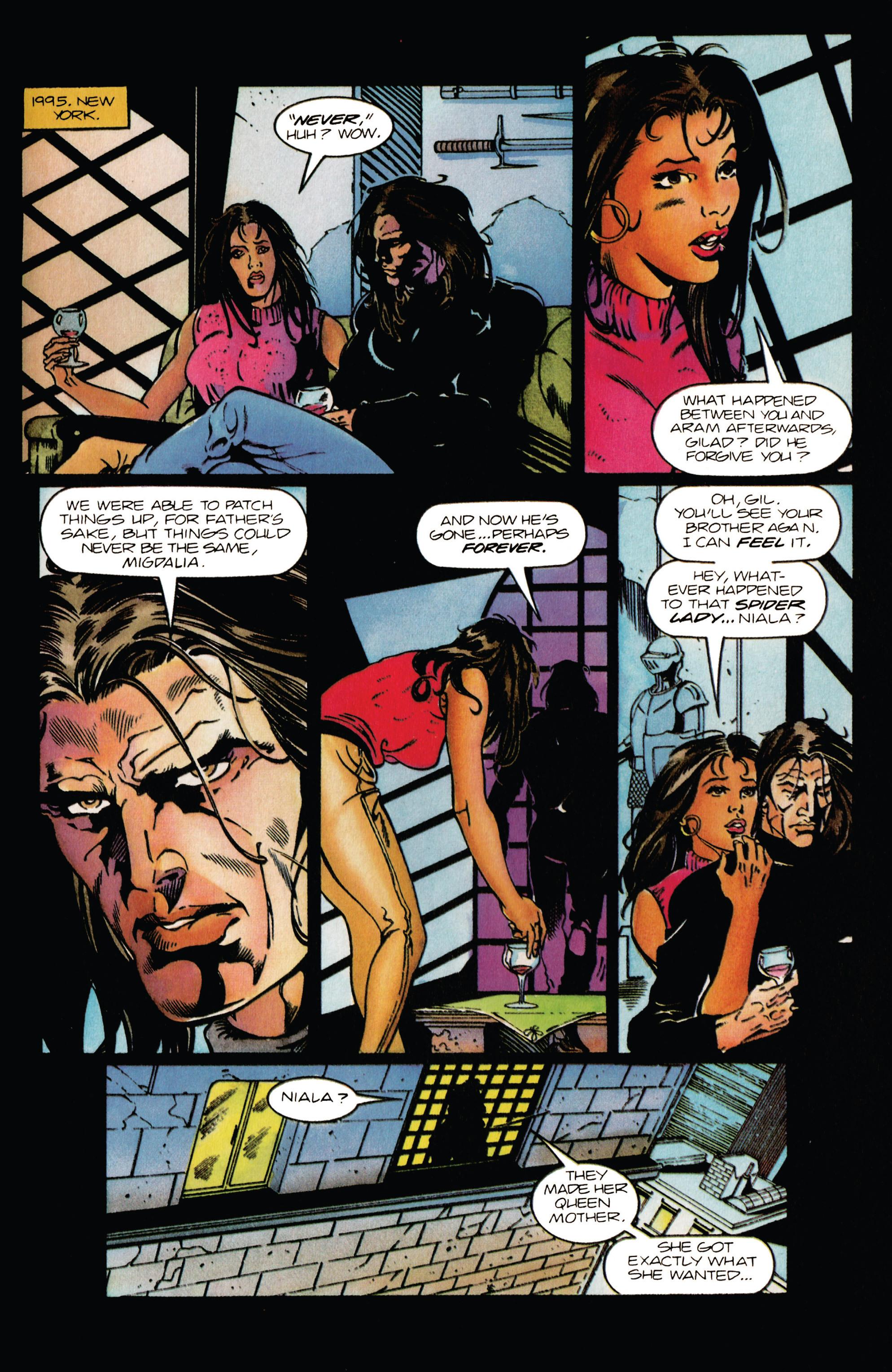 Read online Eternal Warrior (1992) comic -  Issue #38 - 21