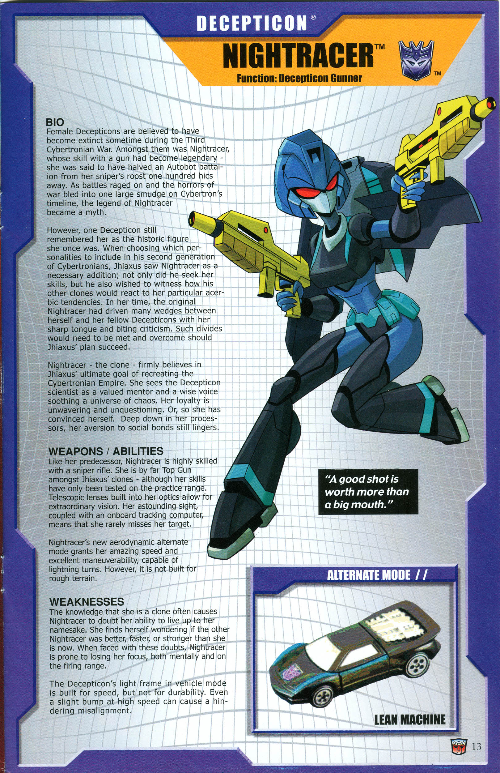 Read online Transformers: Collectors' Club comic -  Issue #46 - 13