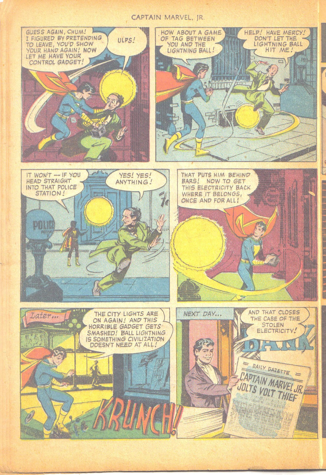Captain Marvel, Jr. issue 95 - Page 11