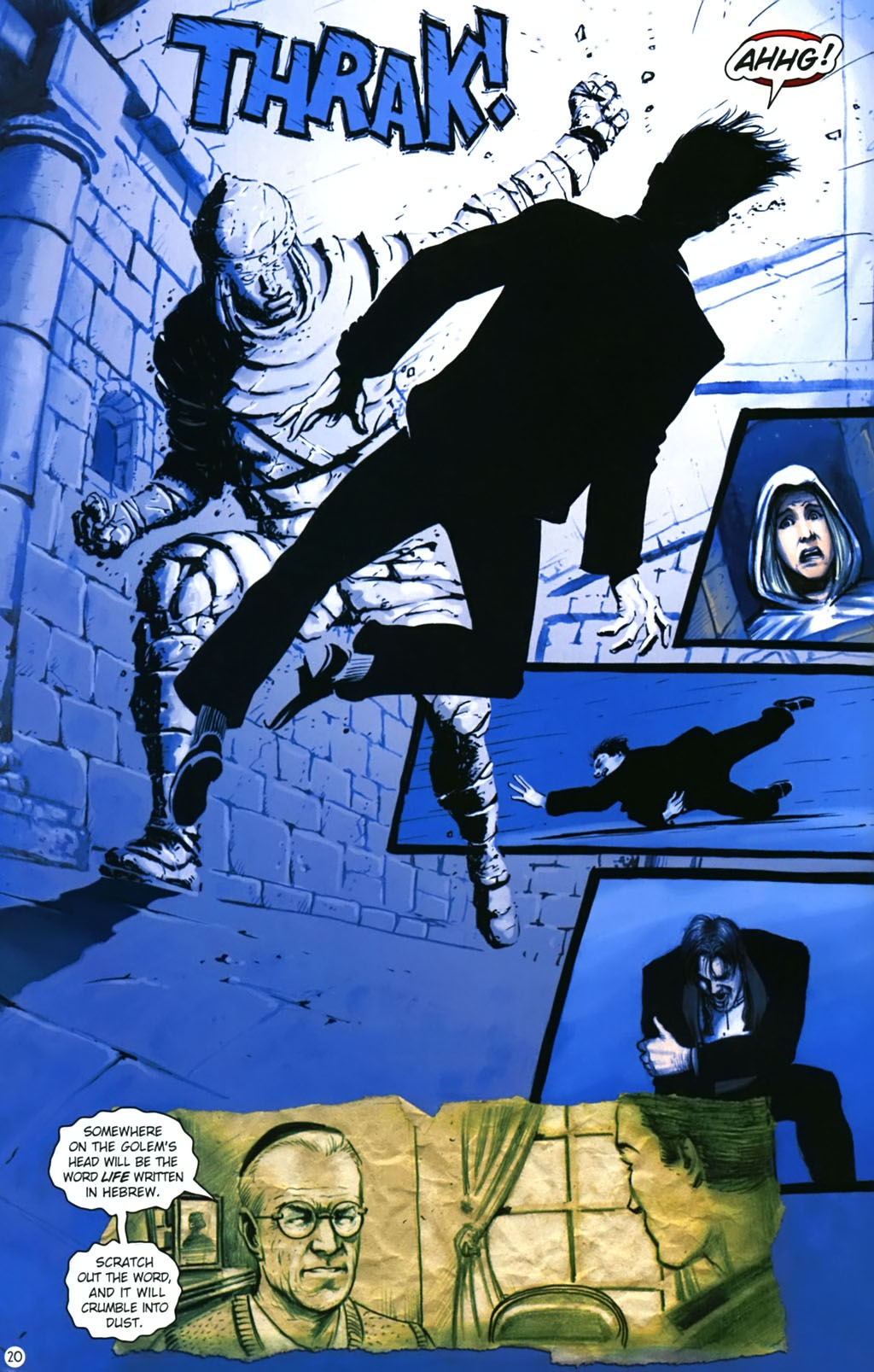 Read online Rex Mundi comic -  Issue #17 - 24