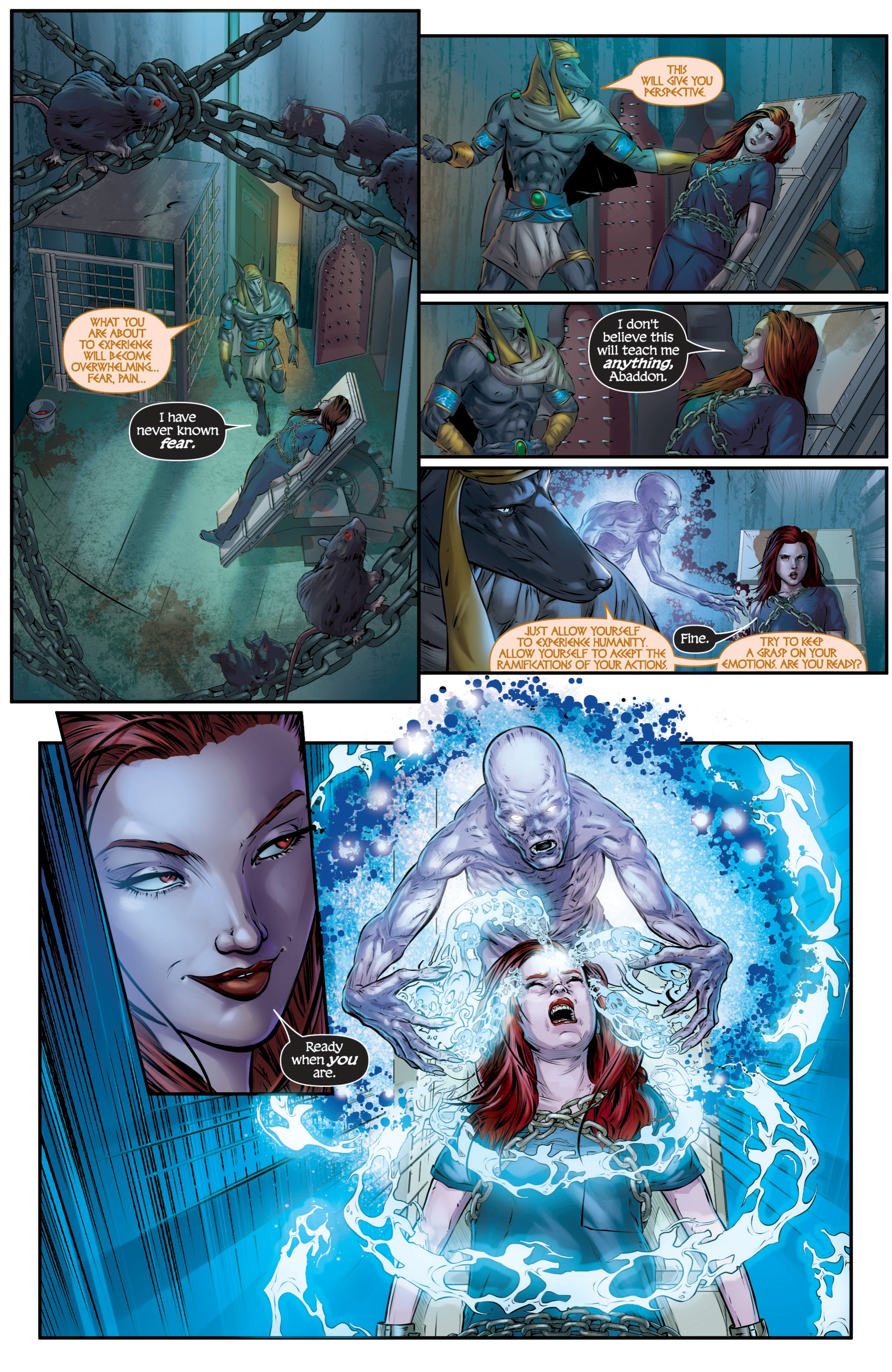 Read online Grimm Fairy Tales presents Death comic -  Issue # Full - 16