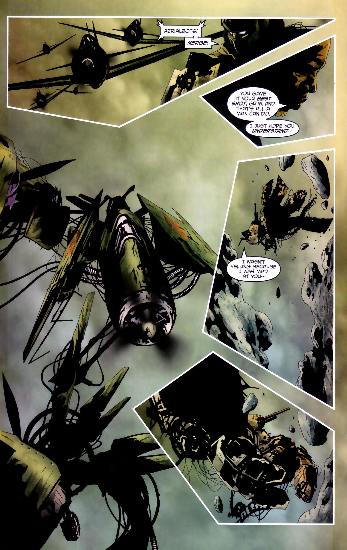 Read online Transformers/G.I. Joe comic -  Issue #4 - 13