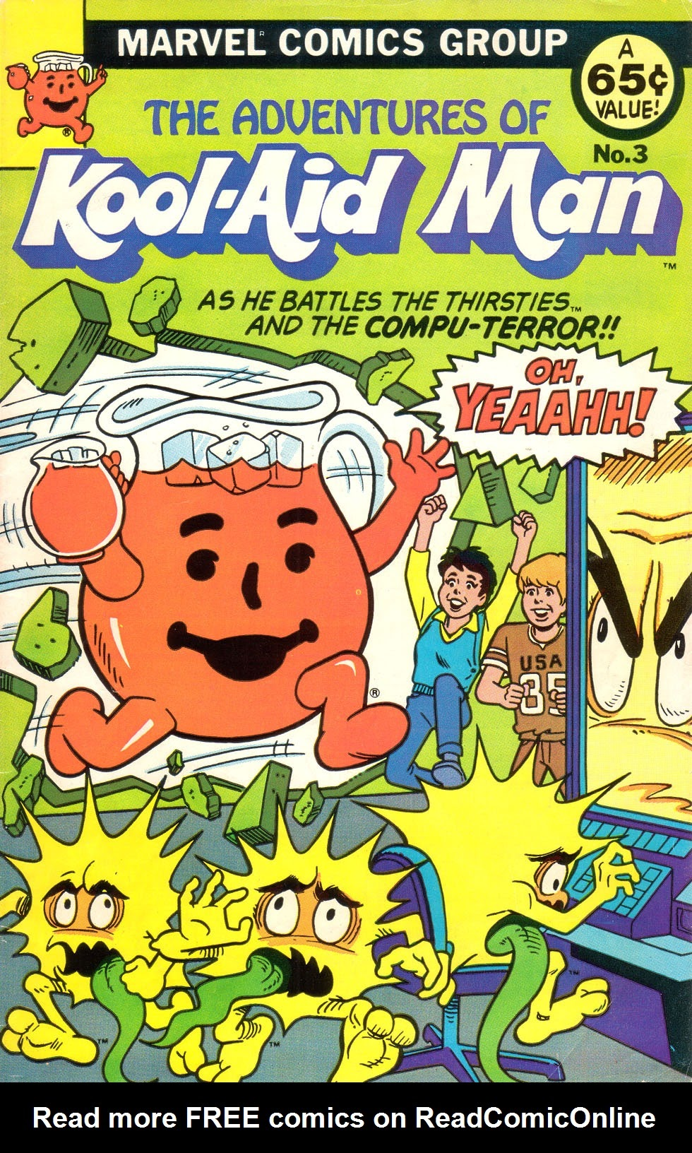 The Adventures of Kool-Aid Man 3 Page 1