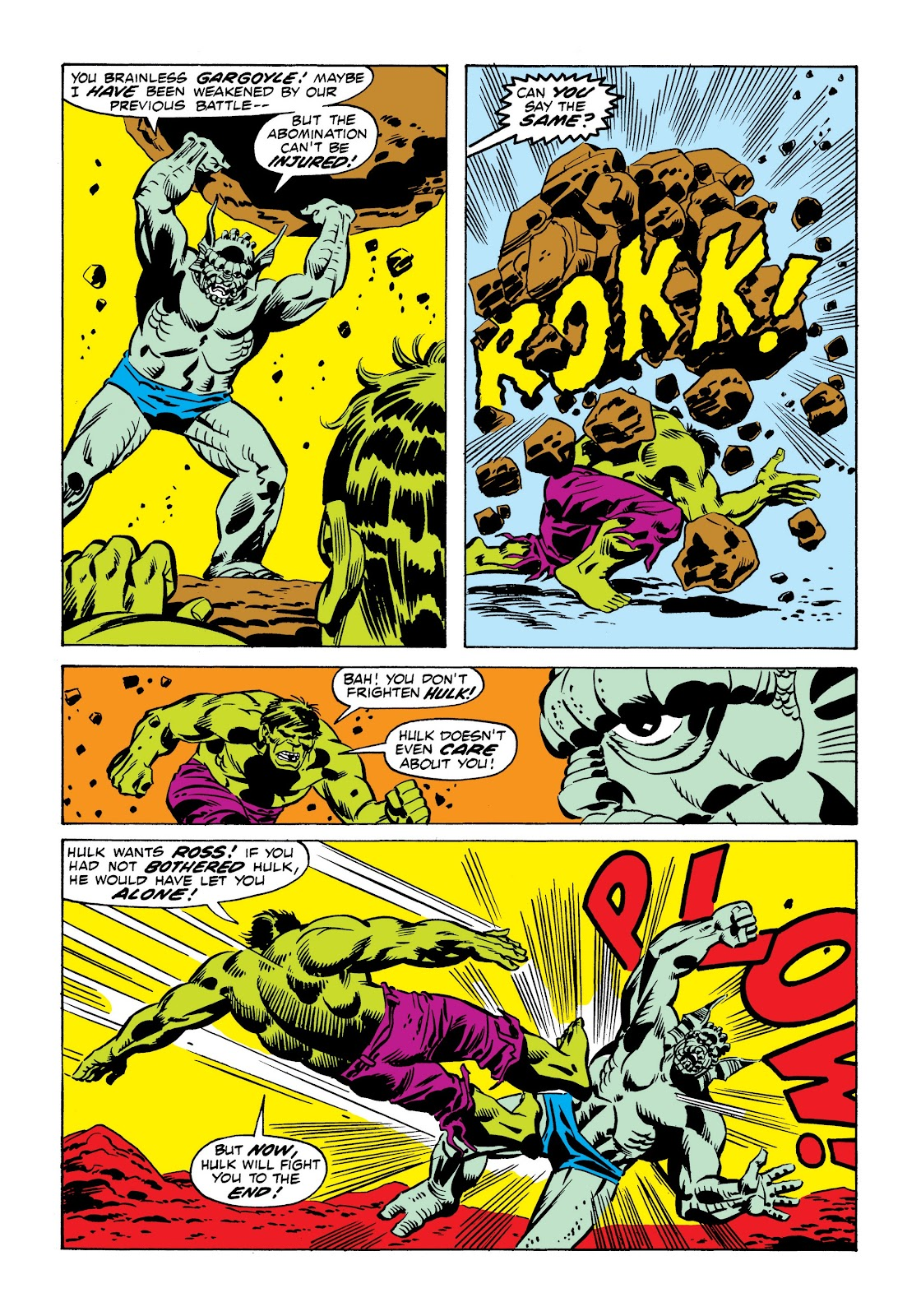 Read online Marvel Masterworks: The Incredible Hulk comic -  Issue # TPB 9 (Part 1) - 69