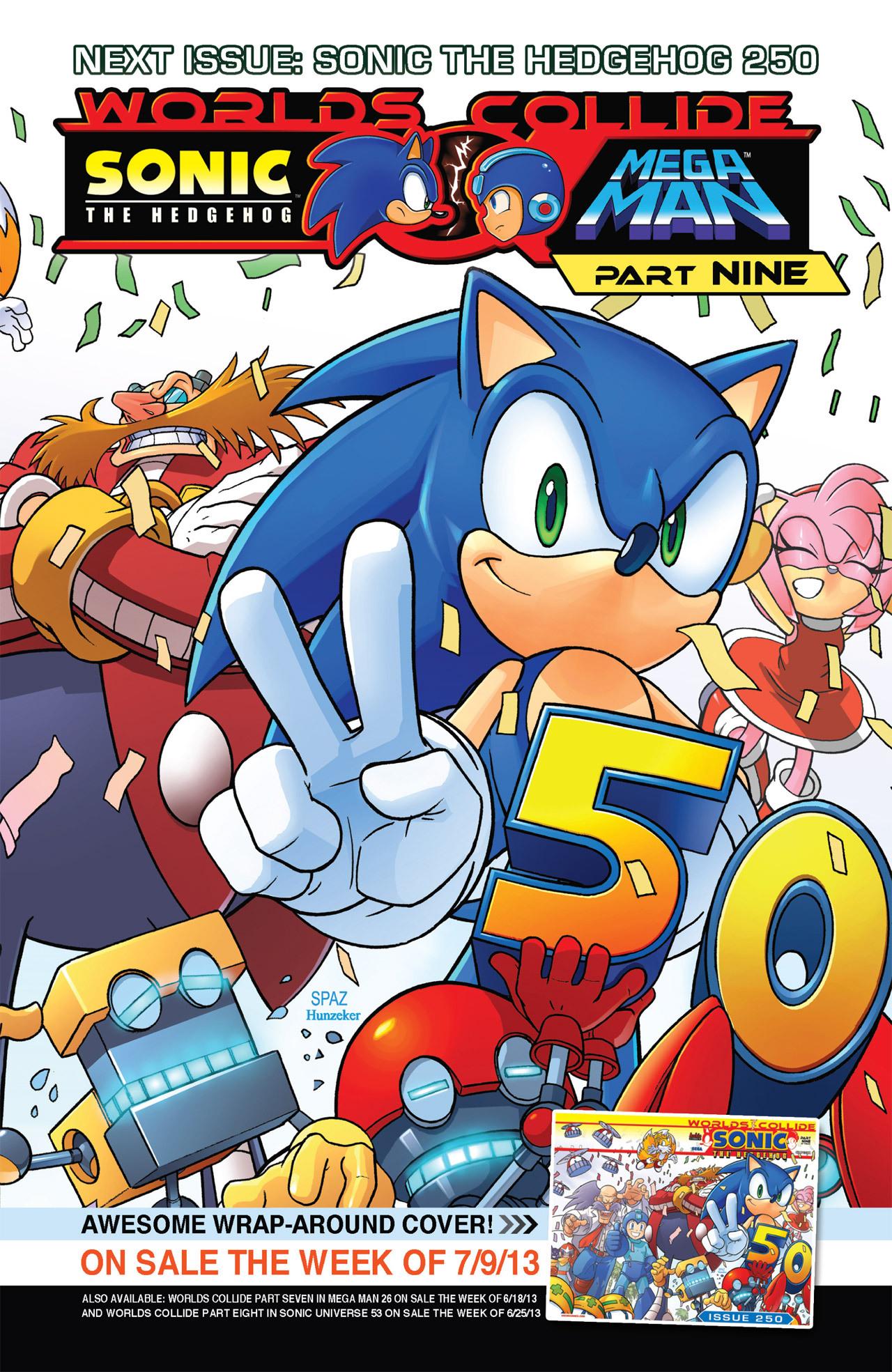 Read online Sonic Mega Man Worlds Collide comic -  Issue # Vol 2 - 57