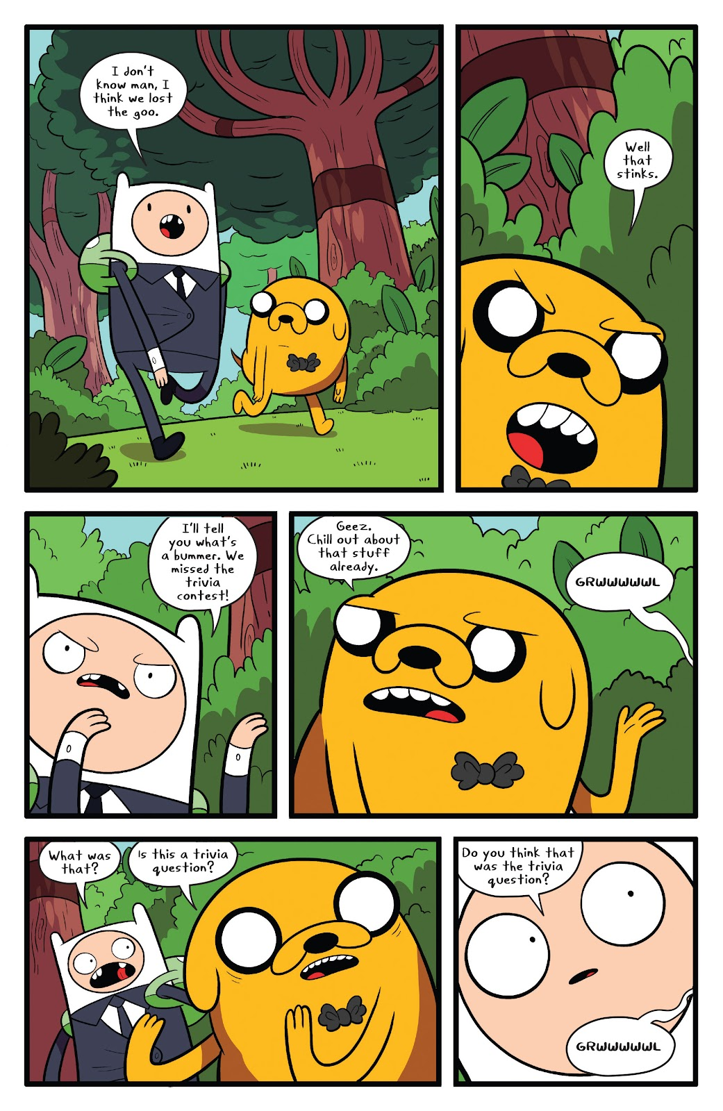 Read online Adventure Time comic -  Issue #63 - 21