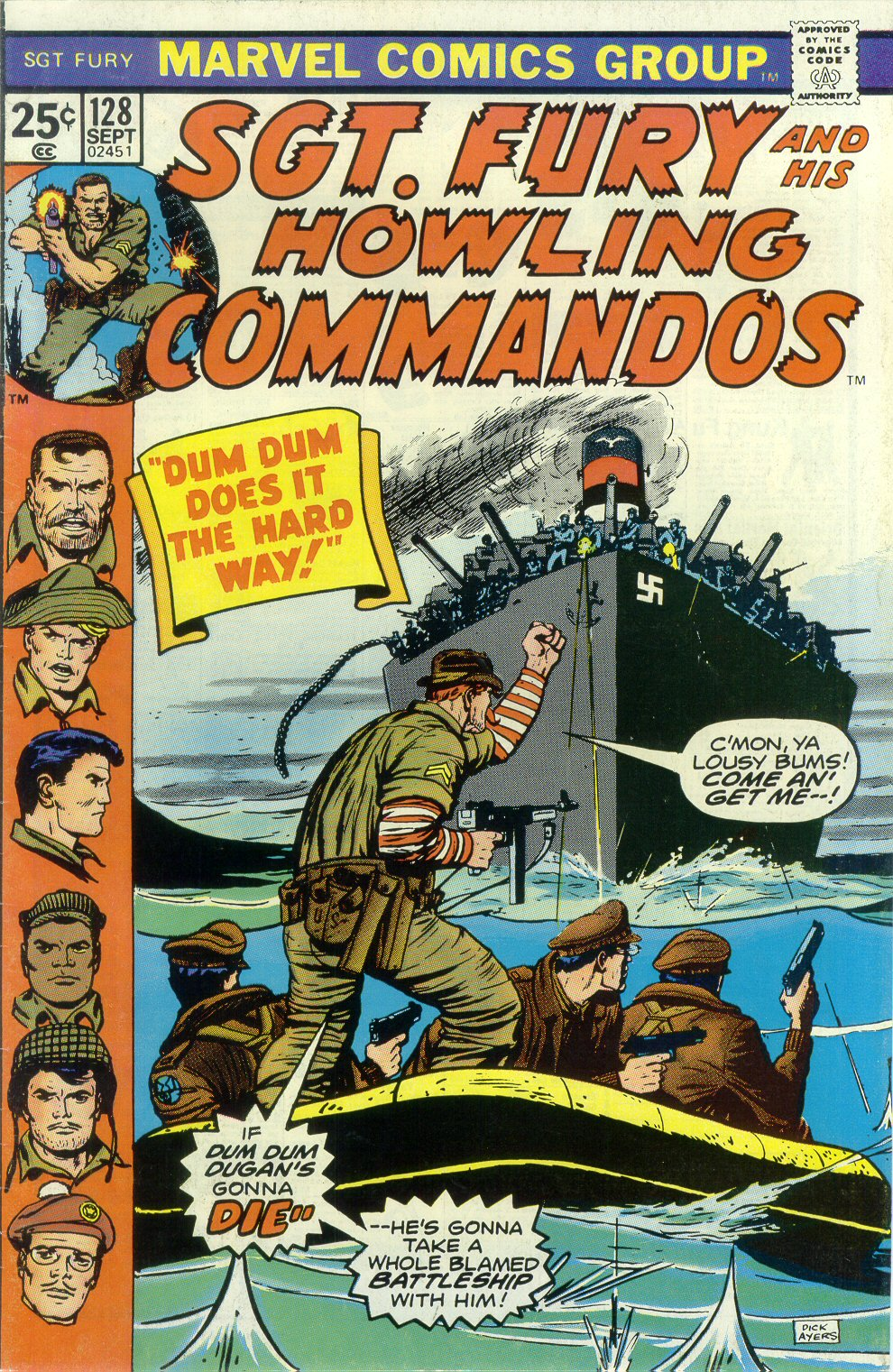 Read online Sgt. Fury comic -  Issue #128 - 1