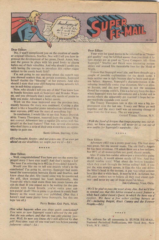 Read online Adventure Comics (1938) comic -  Issue #407 - 32